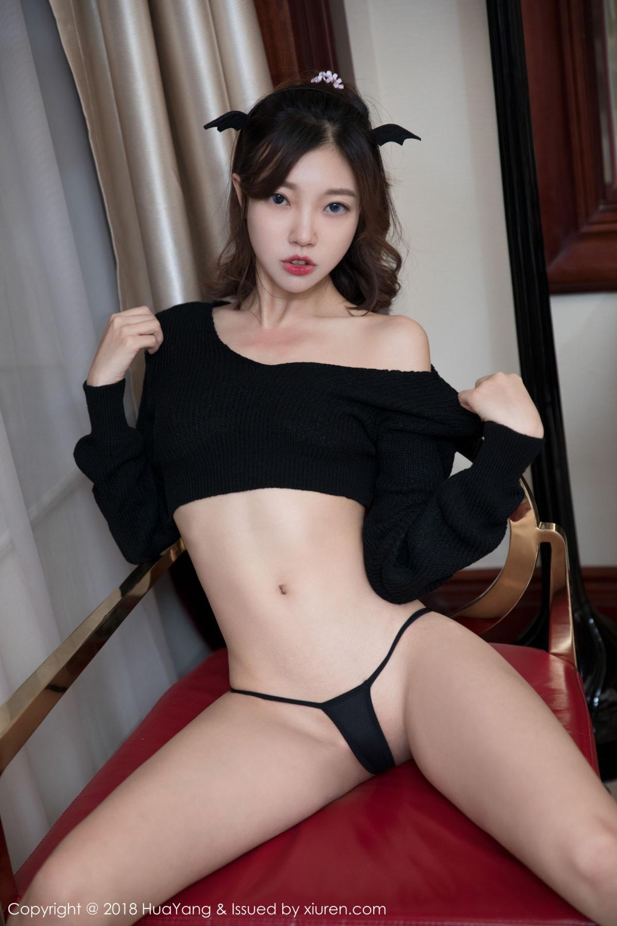 [Huayang] Vol.066 Feng Mu Mu 30P, Black Silk, Feng Mu Mu, HuaYang, Policewoman, Tall