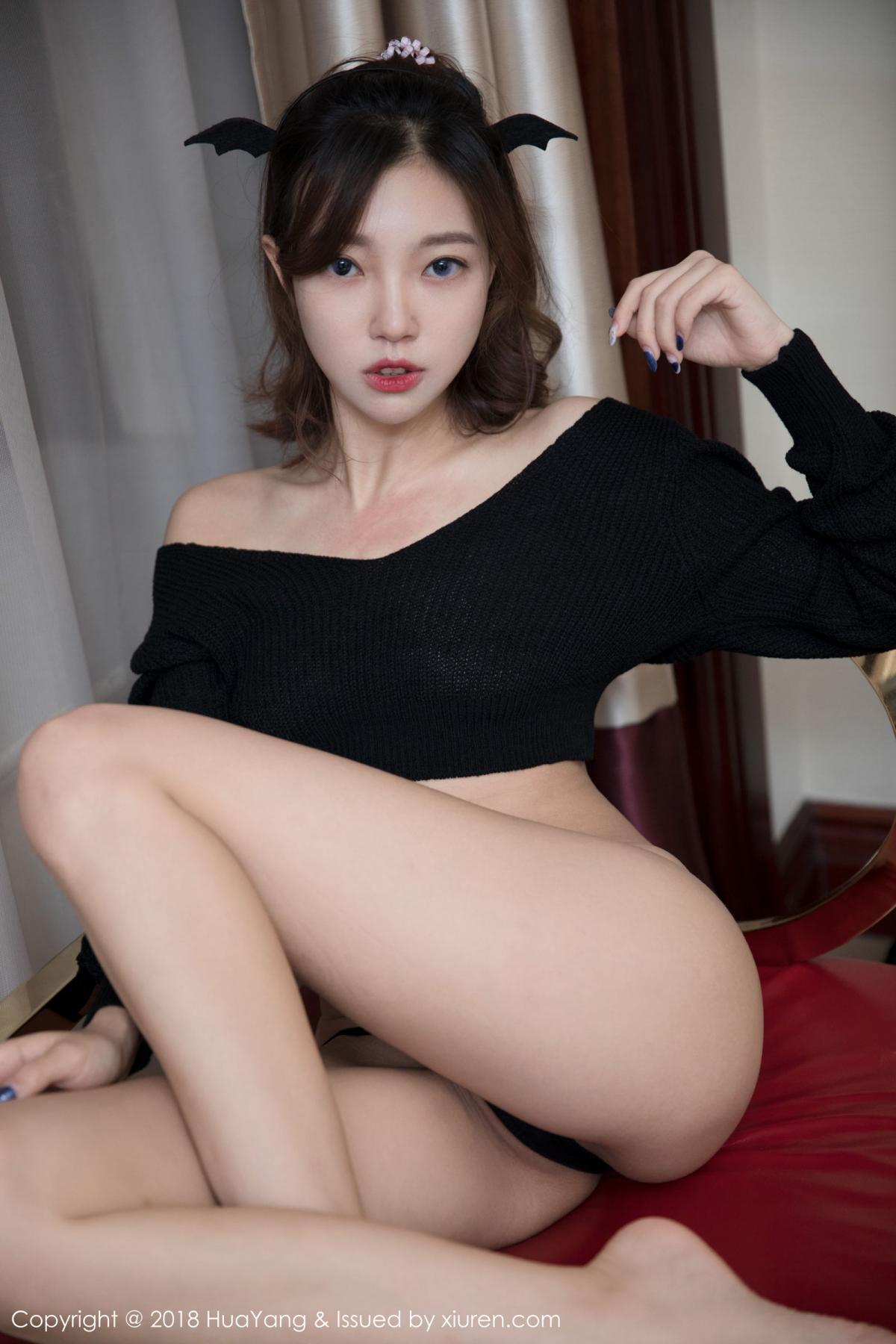 [Huayang] Vol.066 Feng Mu Mu 39P, Black Silk, Feng Mu Mu, HuaYang, Policewoman, Tall
