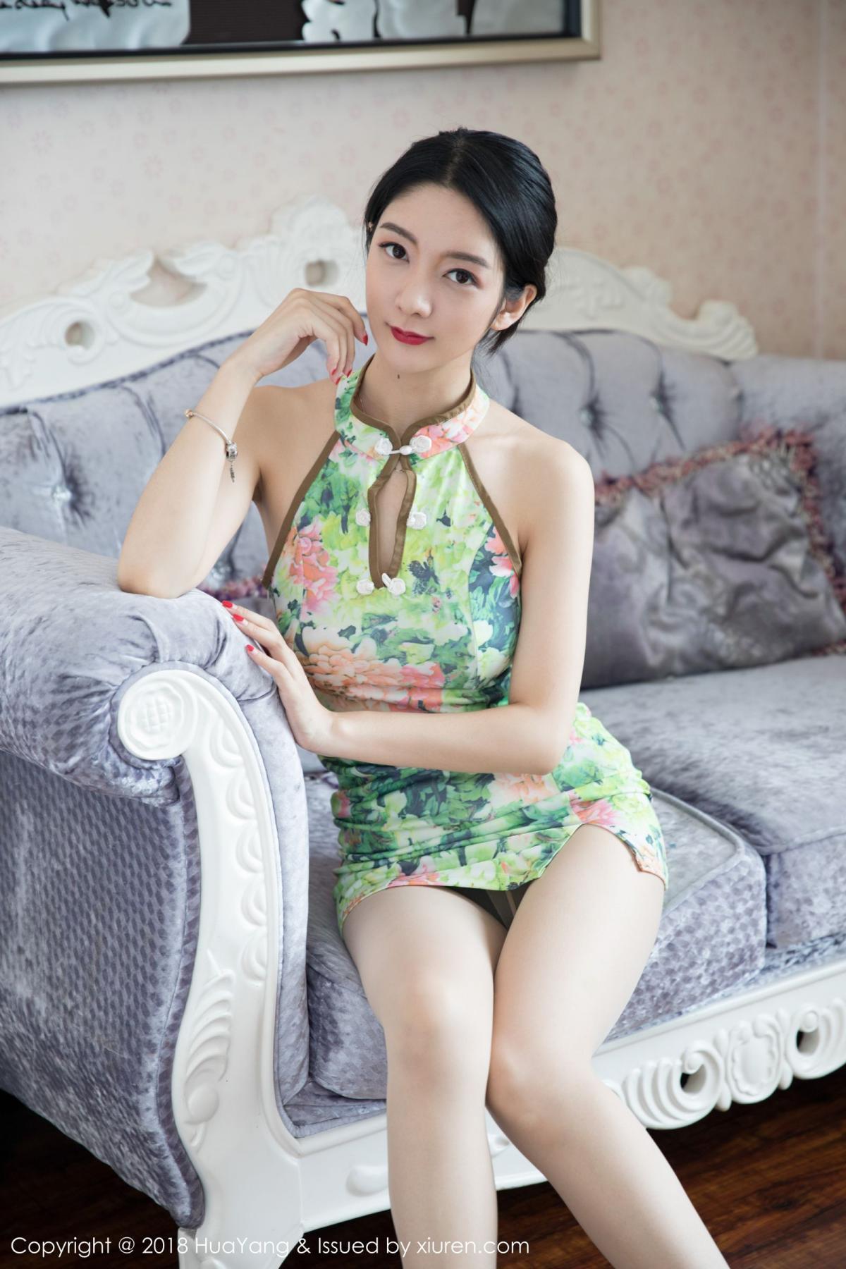 [Huayang] Vol.067 Di Yi 10P, Cheongsam, Di Yi, HuaYang, Tall, Temperament