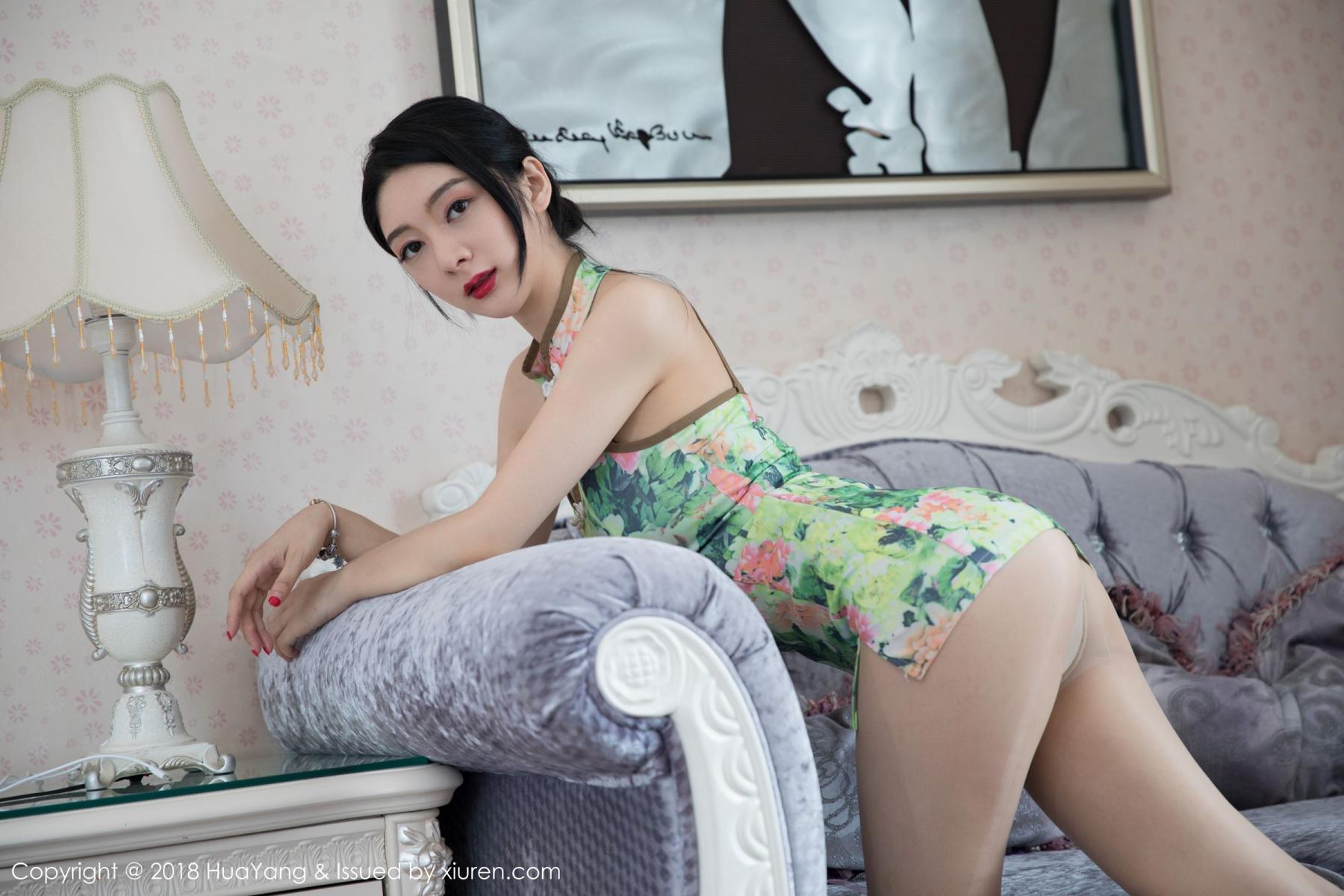 [Huayang] Vol.067 Di Yi 25P, Cheongsam, Di Yi, HuaYang, Tall, Temperament