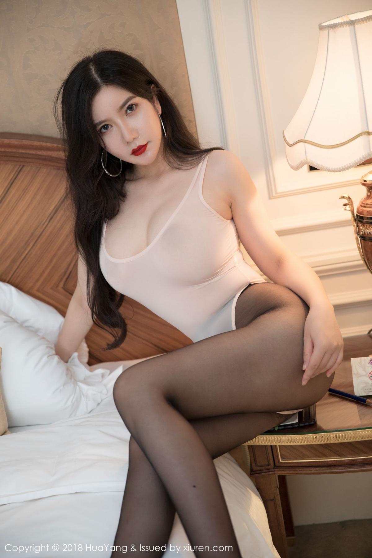 [Huayang] Vol.069 Li Yan Xi 15P, Black Silk, HuaYang, Li Yan Xi, Tall
