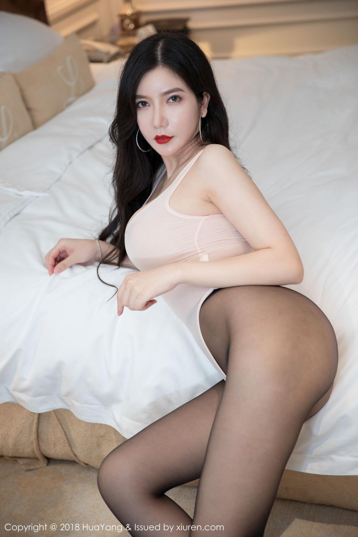 [Huayang] Vol.069 Li Yan Xi 17P, Black Silk, HuaYang, Li Yan Xi, Tall