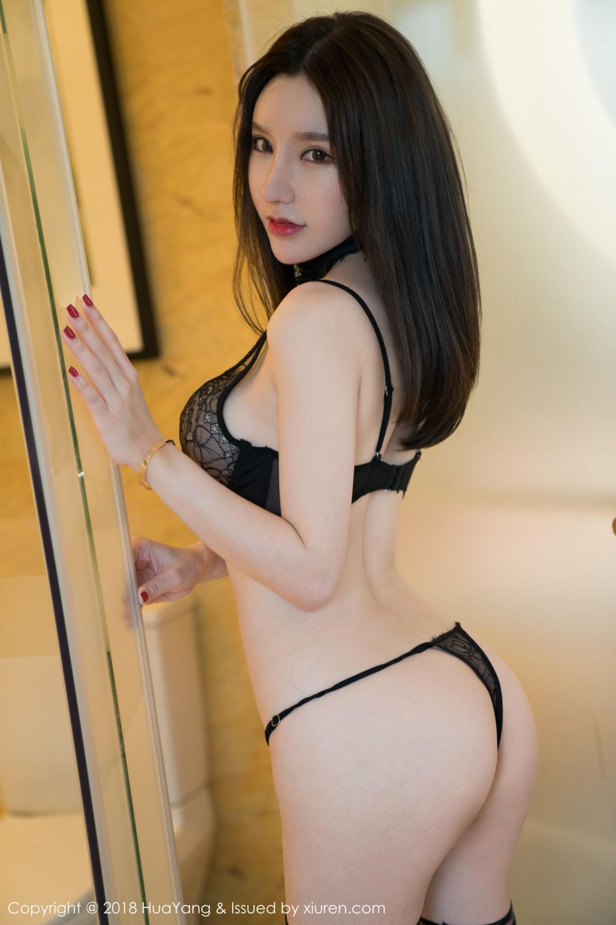 [Huayang] Vol.076 Zhou Yu Xi 27P, Adult, Fair Skin, HuaYang, Underwear, Zhou Yu Xi