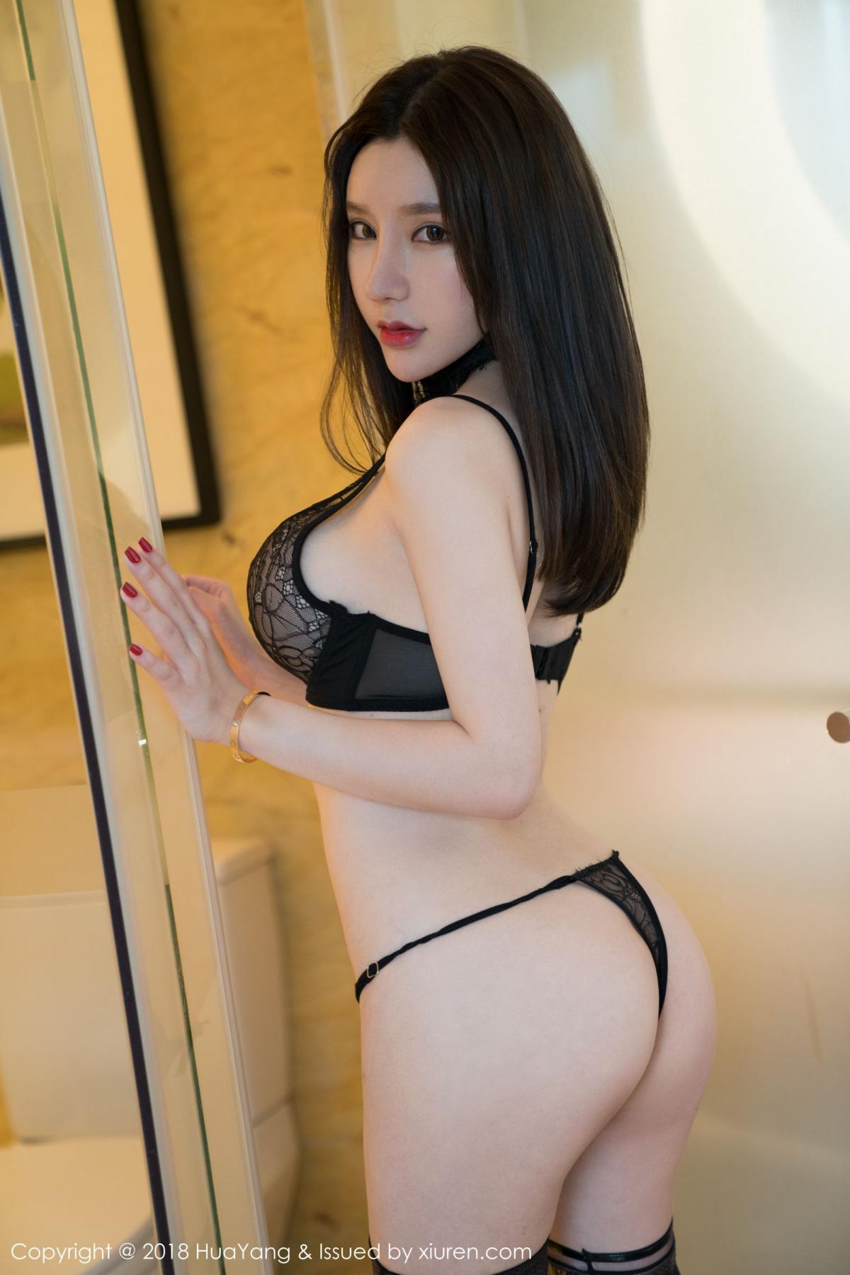 [Huayang] Vol.076 Zhou Yu Xi 28P, Adult, Fair Skin, HuaYang, Underwear, Zhou Yu Xi