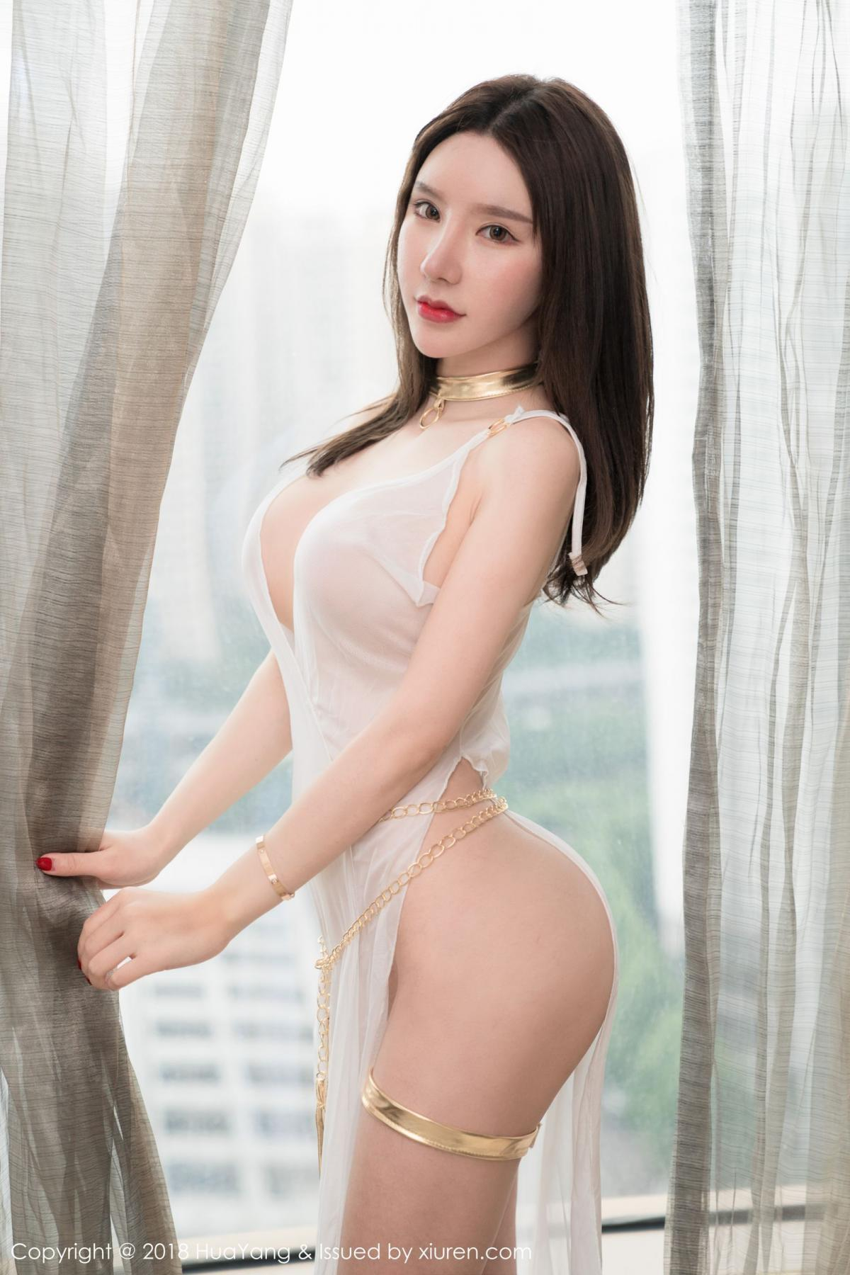 [Huayang] Vol.076 Zhou Yu Xi 29P, Adult, Fair Skin, HuaYang, Underwear, Zhou Yu Xi