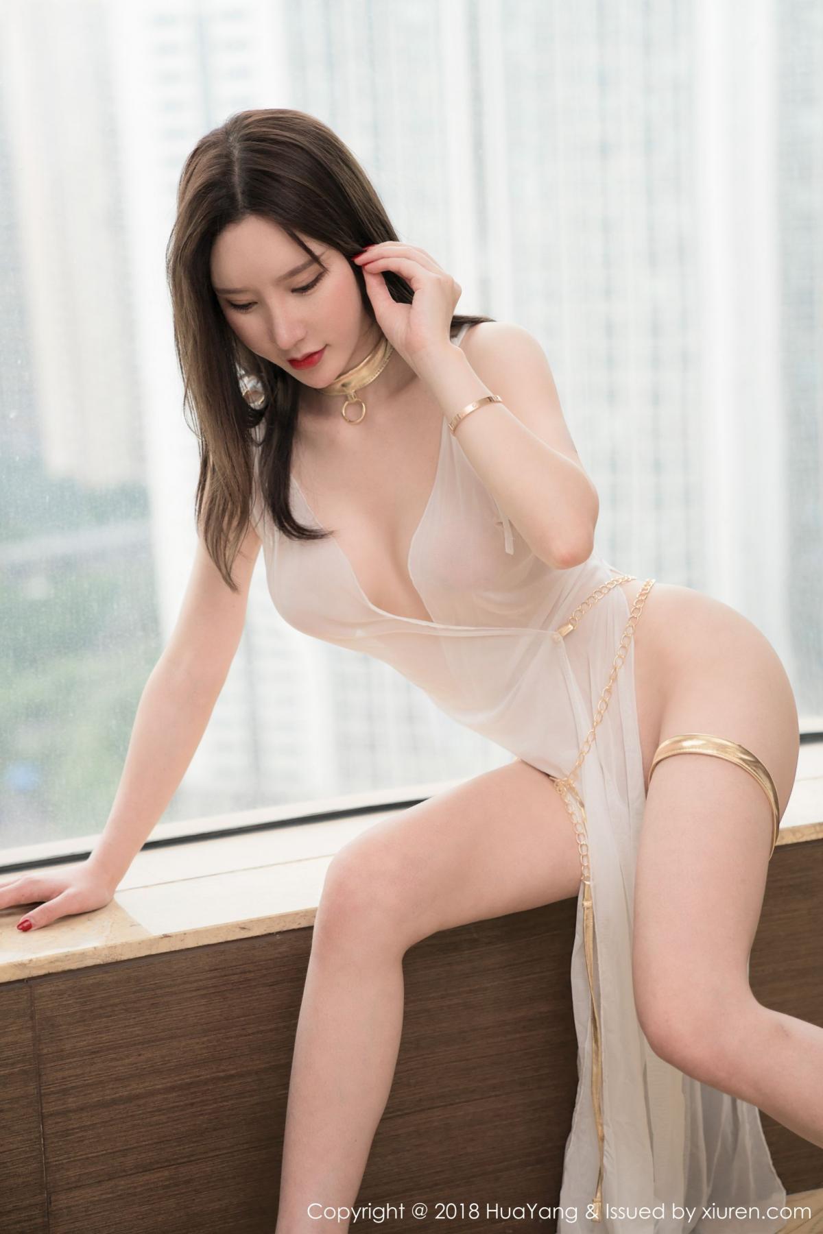 [Huayang] Vol.076 Zhou Yu Xi 2P, Adult, Fair Skin, HuaYang, Underwear, Zhou Yu Xi