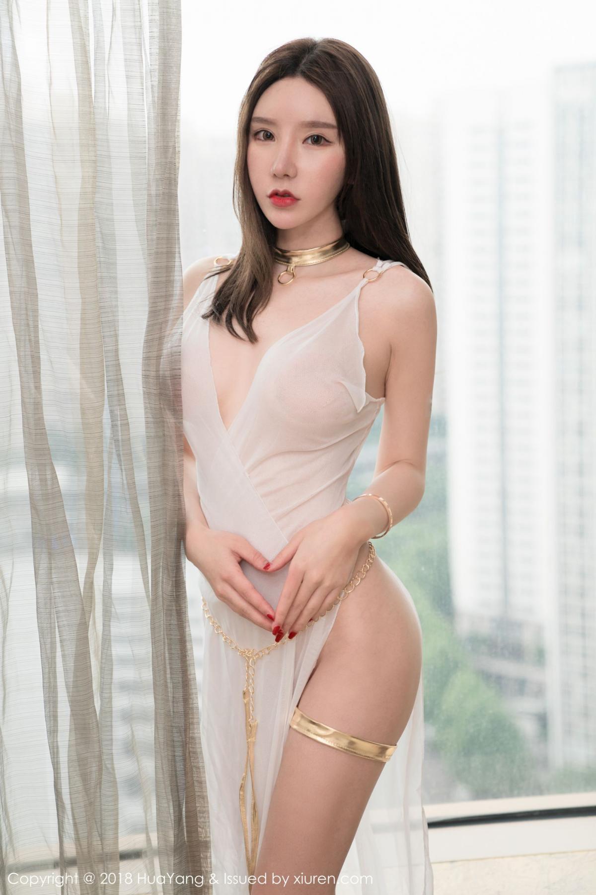 [Huayang] Vol.076 Zhou Yu Xi 31P, Adult, Fair Skin, HuaYang, Underwear, Zhou Yu Xi