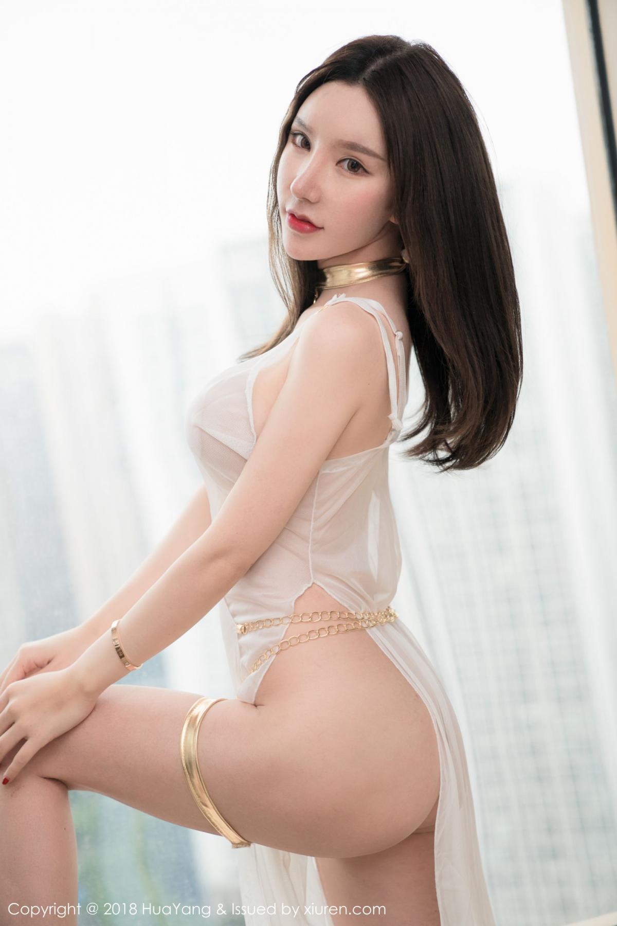 [Huayang] Vol.076 Zhou Yu Xi 33P, Adult, Fair Skin, HuaYang, Underwear, Zhou Yu Xi