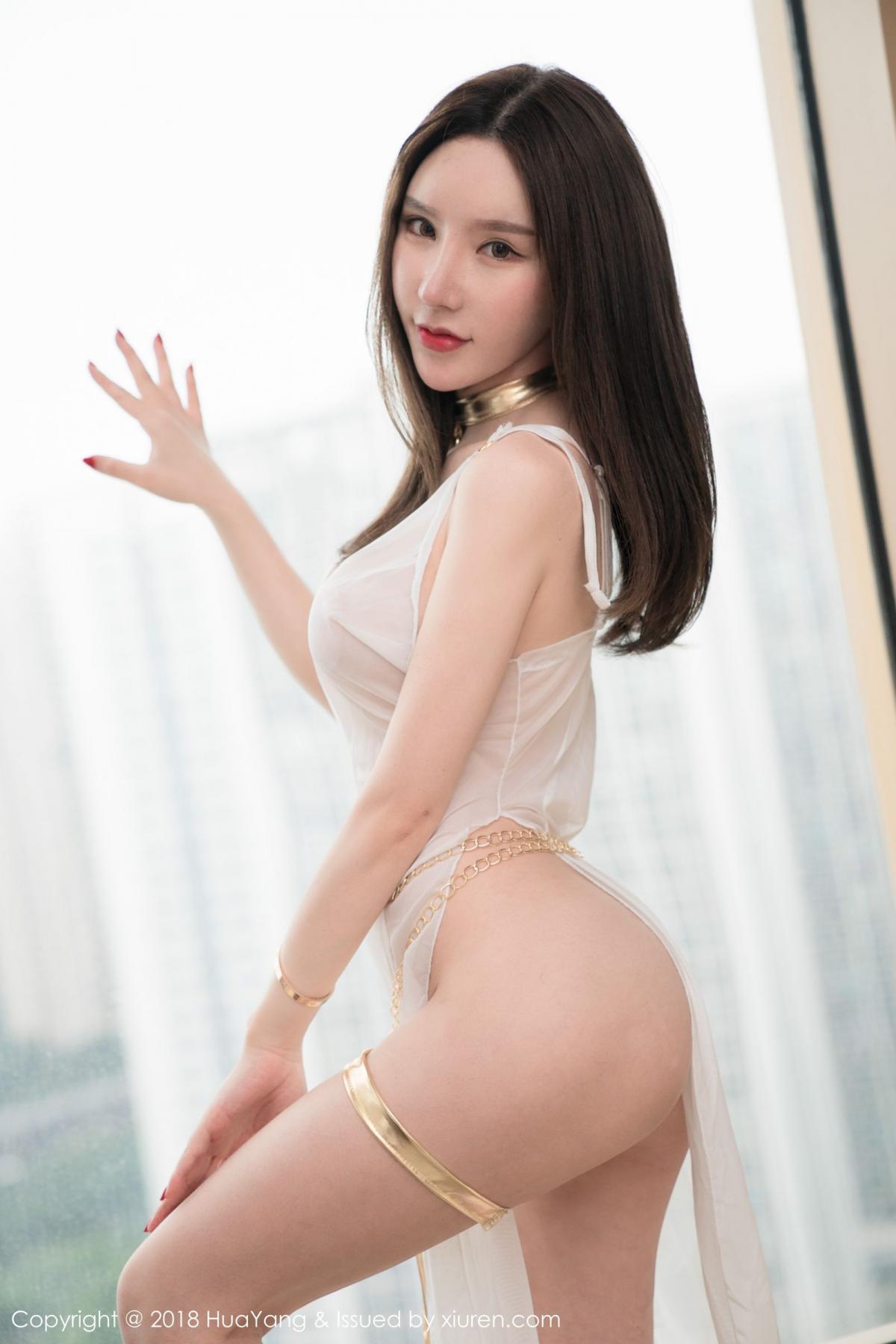 [Huayang] Vol.076 Zhou Yu Xi 34P, Adult, Fair Skin, HuaYang, Underwear, Zhou Yu Xi