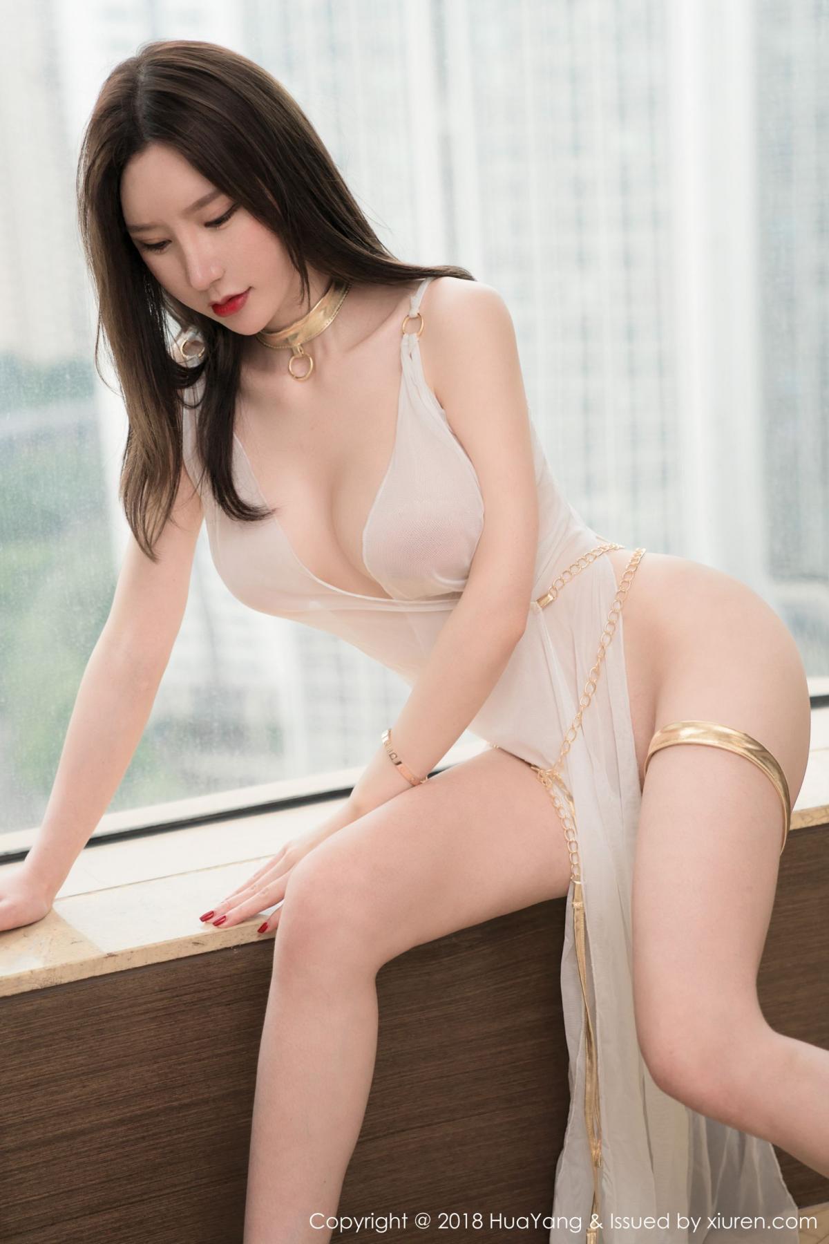 [Huayang] Vol.076 Zhou Yu Xi 35P, Adult, Fair Skin, HuaYang, Underwear, Zhou Yu Xi