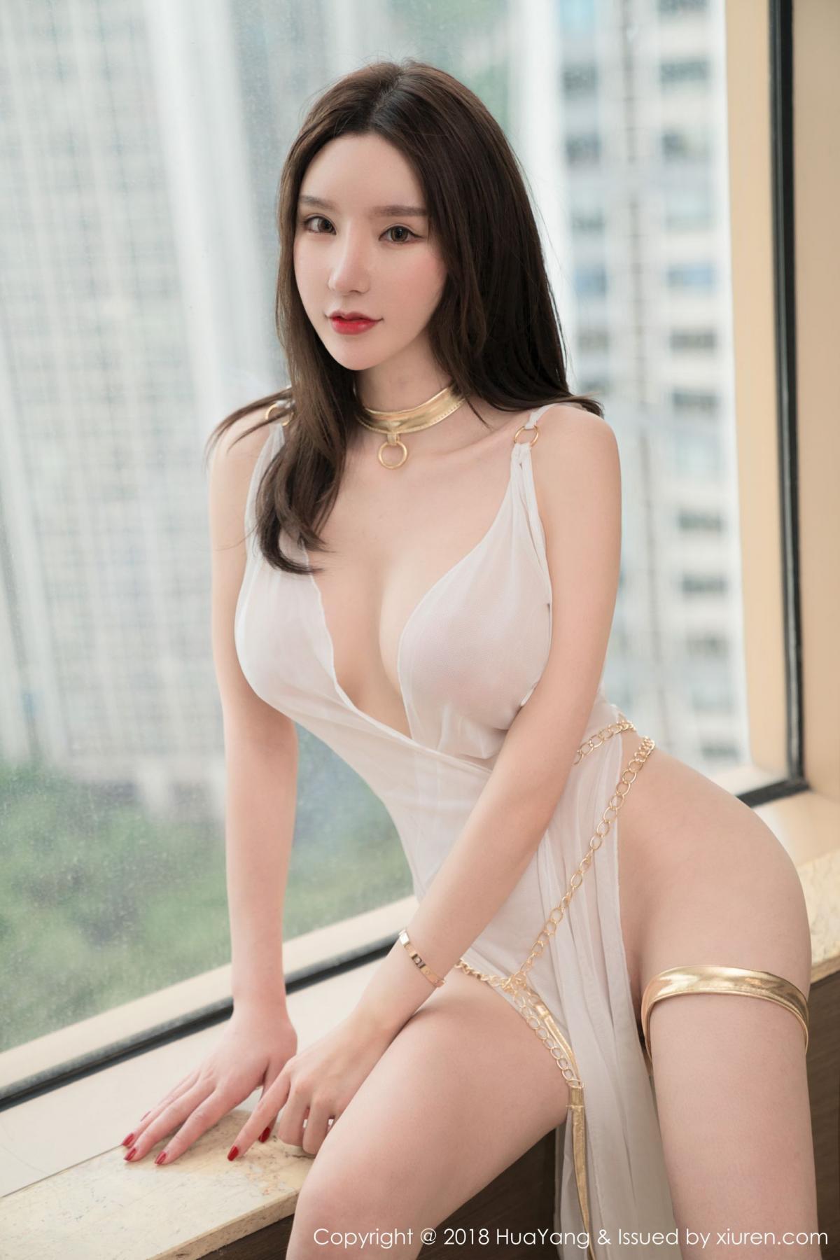 [Huayang] Vol.076 Zhou Yu Xi 36P, Adult, Fair Skin, HuaYang, Underwear, Zhou Yu Xi
