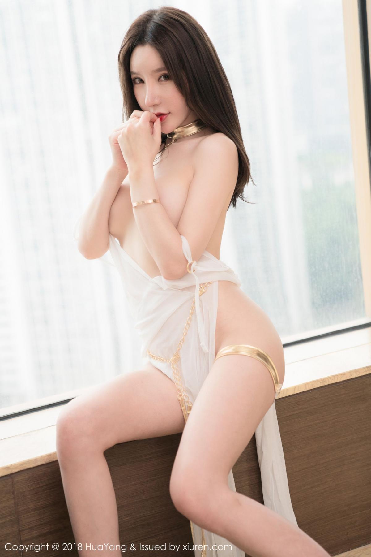 [Huayang] Vol.076 Zhou Yu Xi 41P, Adult, Fair Skin, HuaYang, Underwear, Zhou Yu Xi