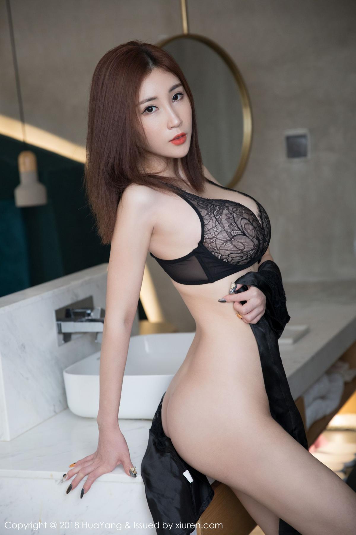 [Huayang] Vol.077 Sun Meng Yao 3P, Adult, Big Booty, HuaYang, Sun Meng Yao, Underwear