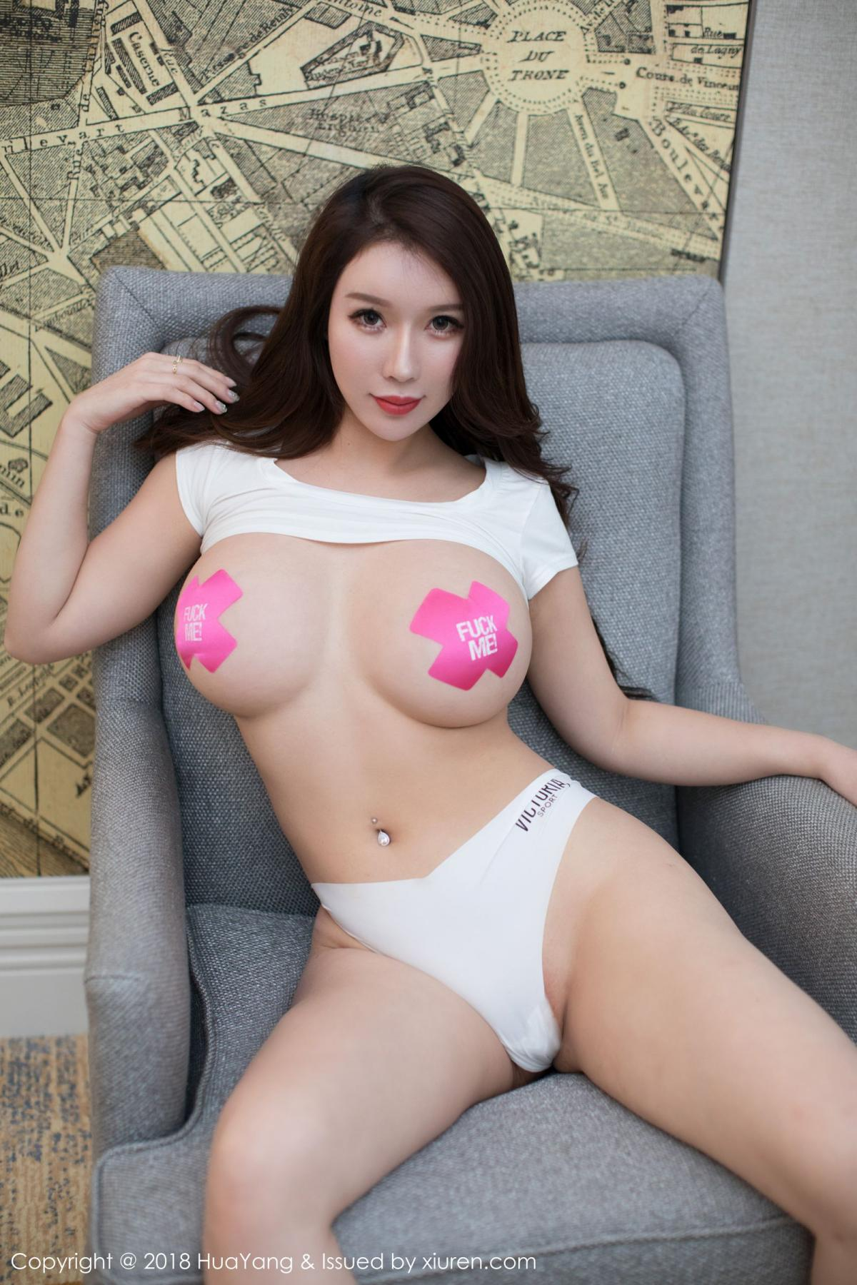 [Huayang] Vol.078 Egg Younisi 19P, Big Booty, Egg Younisi, HuaYang