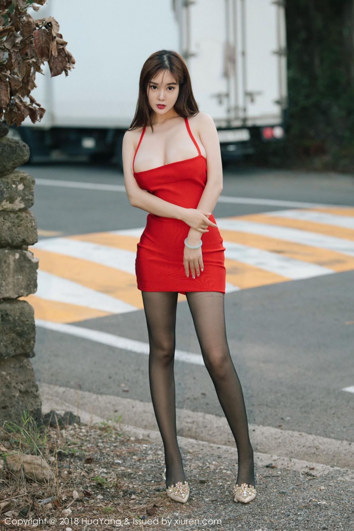 [Huayang] Vol.080 Yi Yang 24P, Black Silk, HuaYang, Tall, Yi Yang