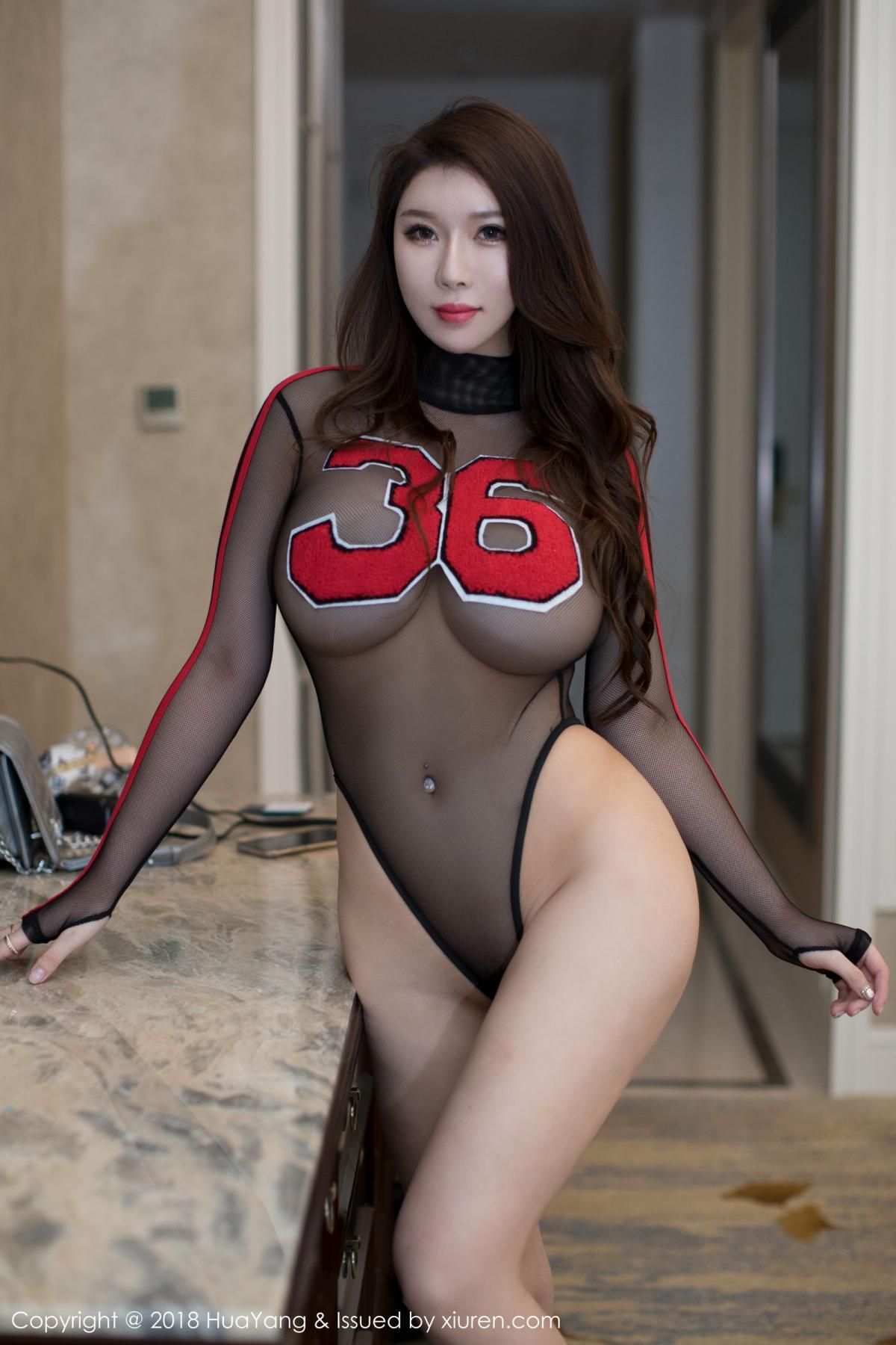 [Huayang] Vol.083 Egg Younisi 10P, Big Booty, Egg Younisi, HuaYang