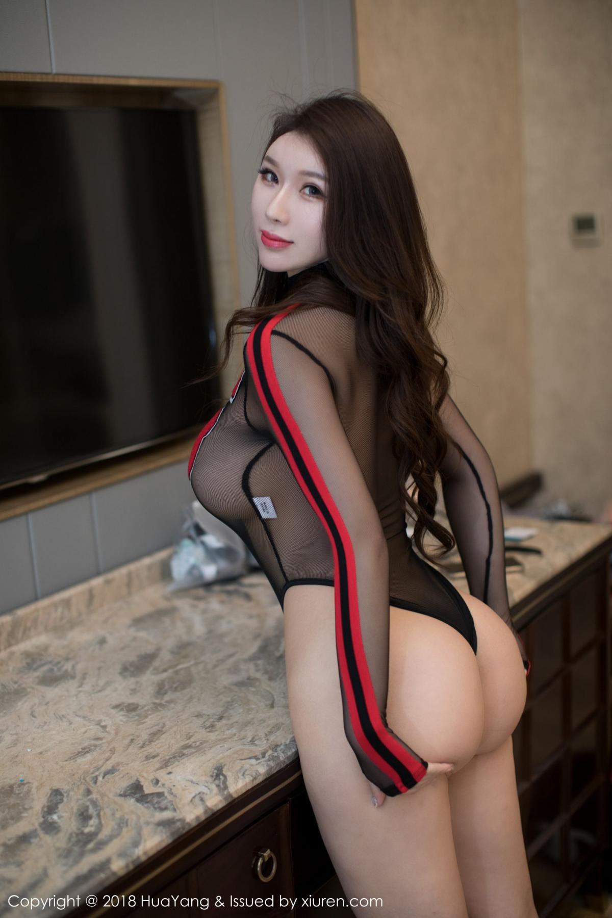[Huayang] Vol.083 Egg Younisi 17P, Big Booty, Egg Younisi, HuaYang