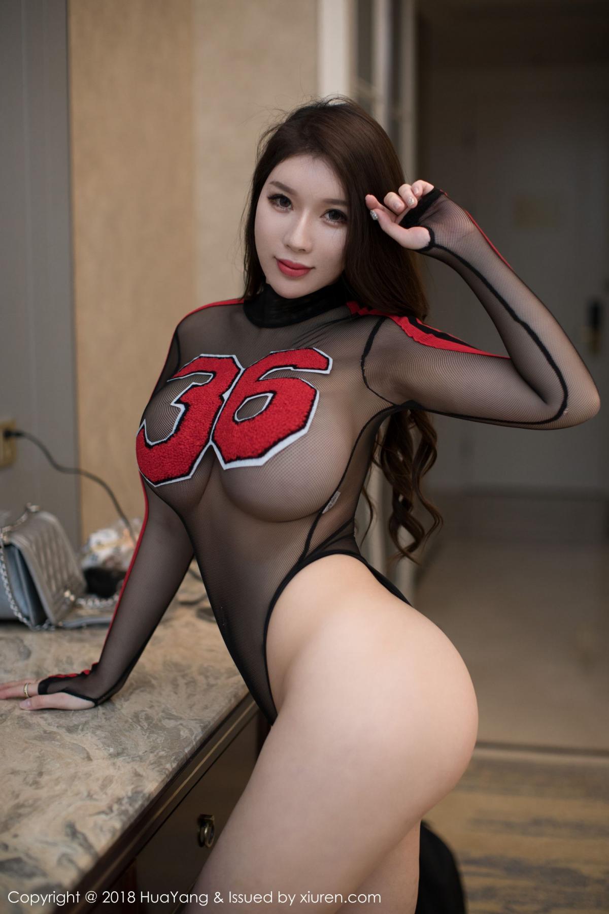 [Huayang] Vol.083 Egg Younisi 18P, Big Booty, Egg Younisi, HuaYang