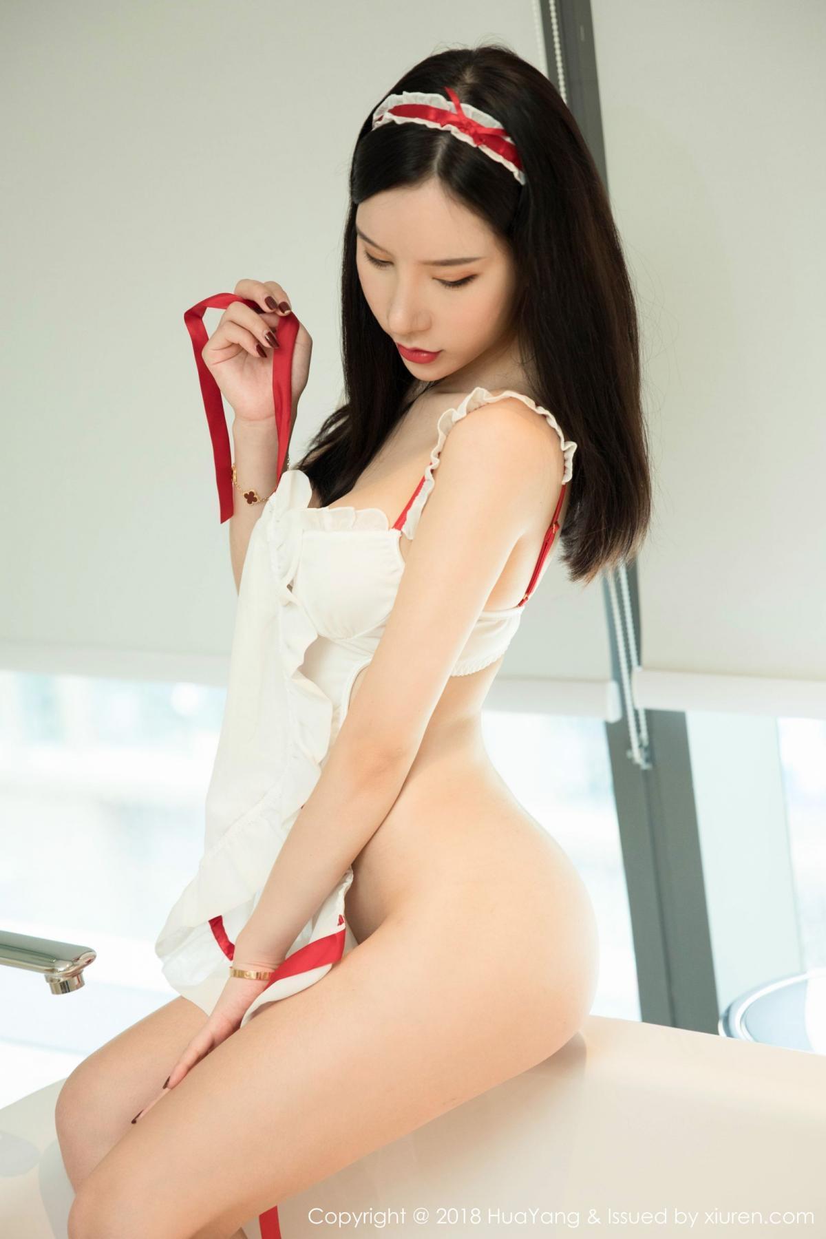 [Huayang] Vol.089 Zhou Yu Xi 24P, Adult, Big Booty, HuaYang, Maid, Zhou Yu Xi