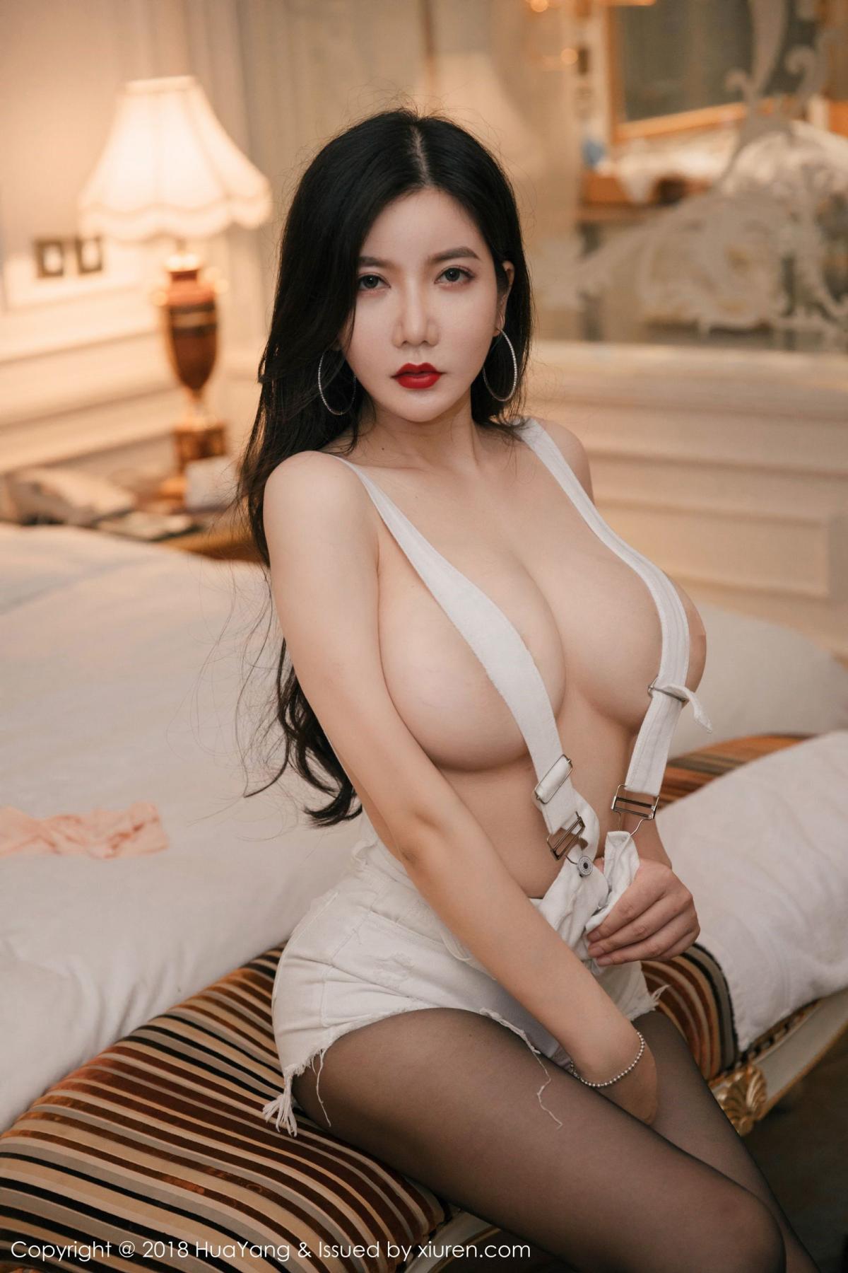 [Huayang] Vol.091 Li Yan Xi 10P, Black Silk, HuaYang, Li Yan Xi