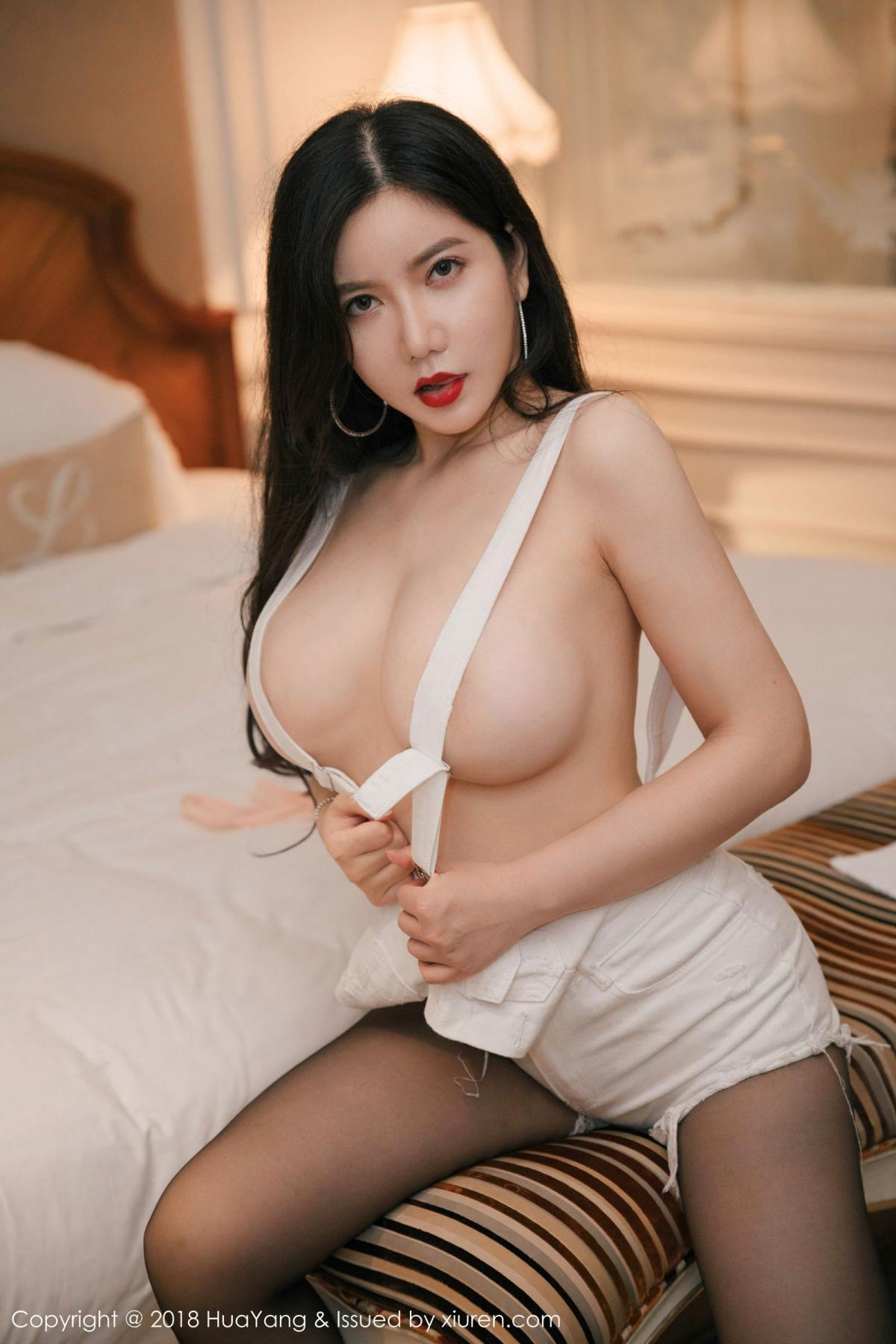 [Huayang] Vol.091 Li Yan Xi 12P, Black Silk, HuaYang, Li Yan Xi