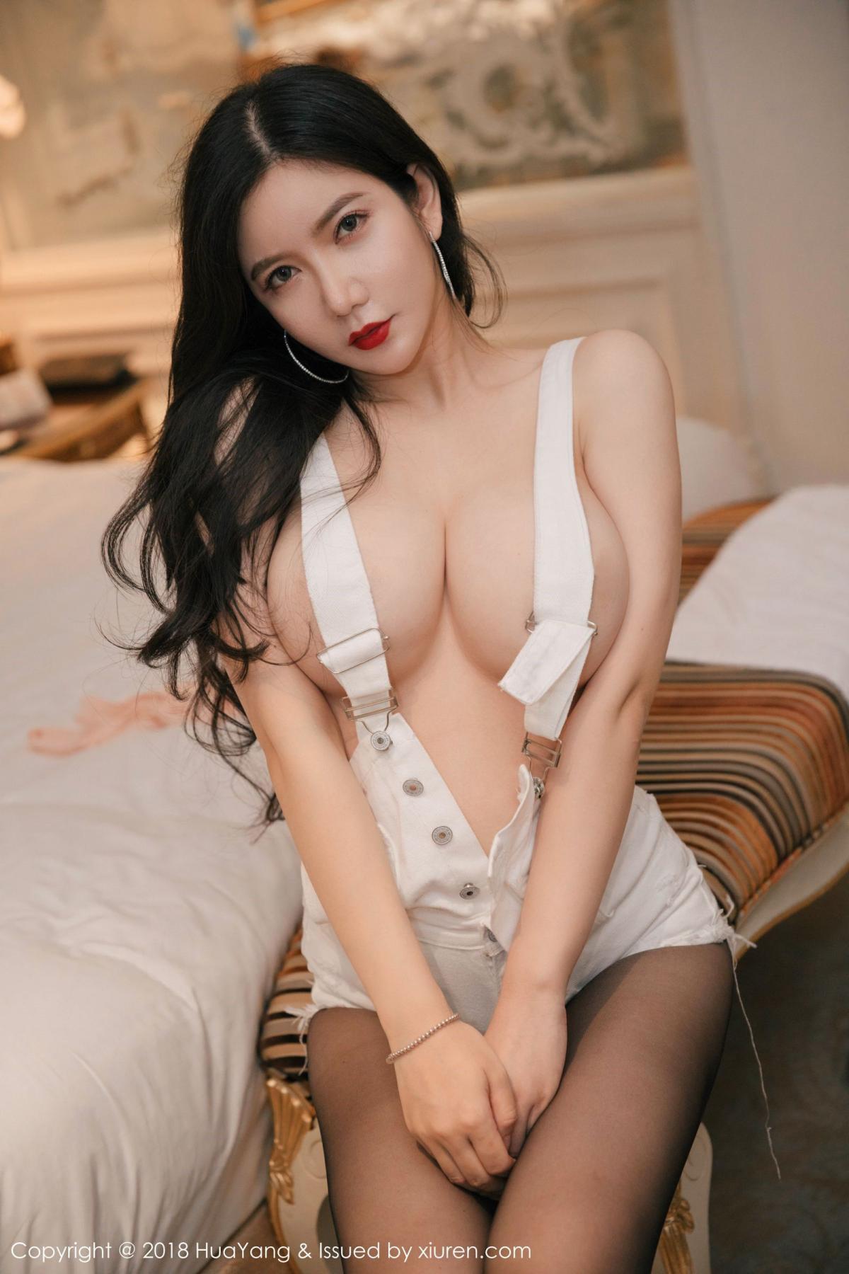 [Huayang] Vol.091 Li Yan Xi 14P, Black Silk, HuaYang, Li Yan Xi