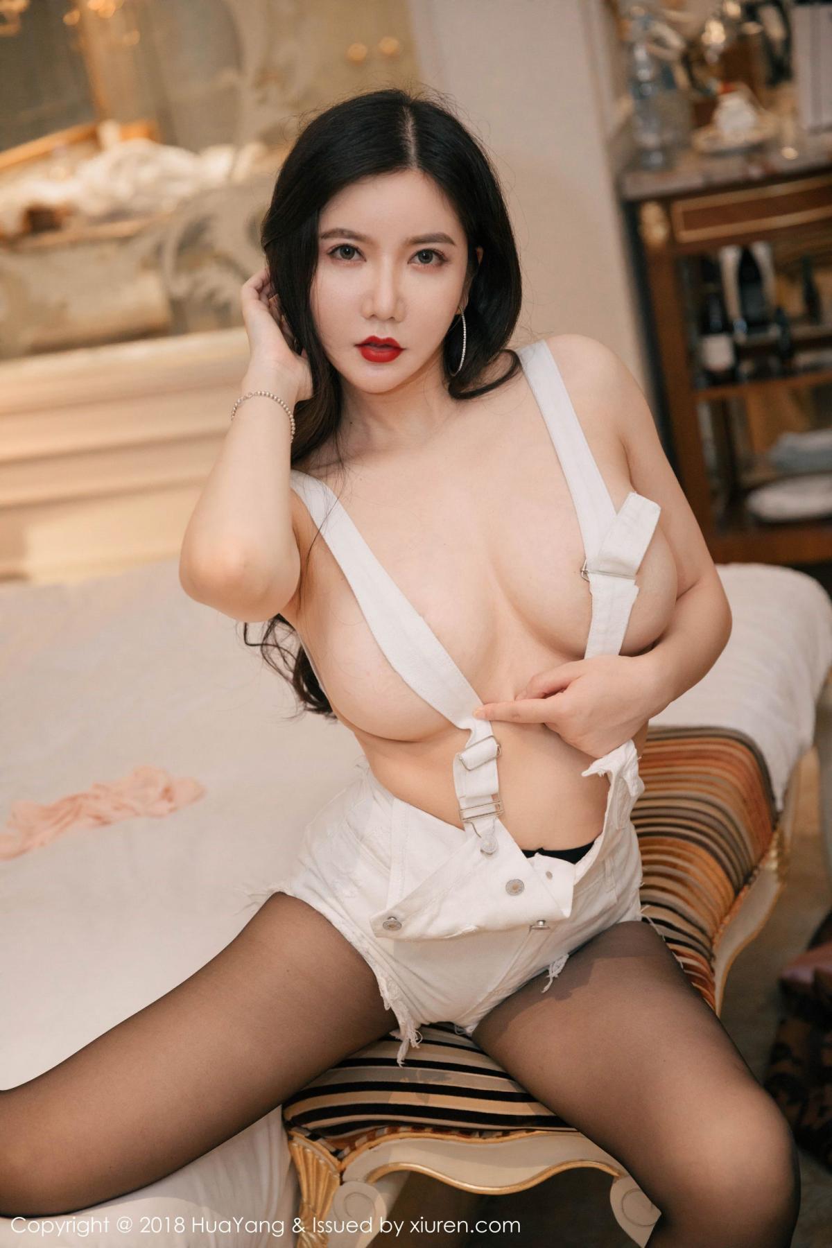 [Huayang] Vol.091 Li Yan Xi 16P, Black Silk, HuaYang, Li Yan Xi