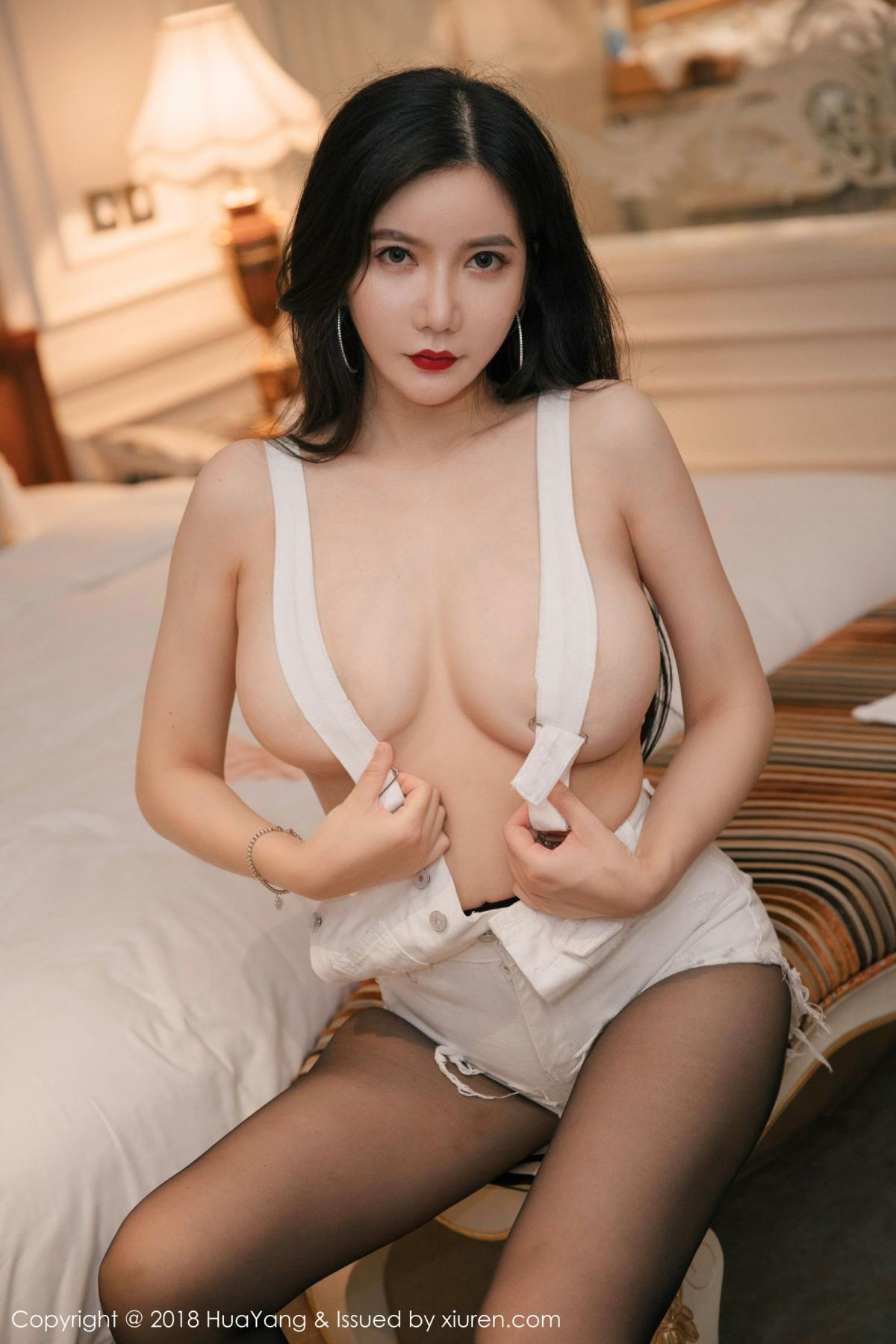 [Huayang] Vol.091 Li Yan Xi 17P, Black Silk, HuaYang, Li Yan Xi