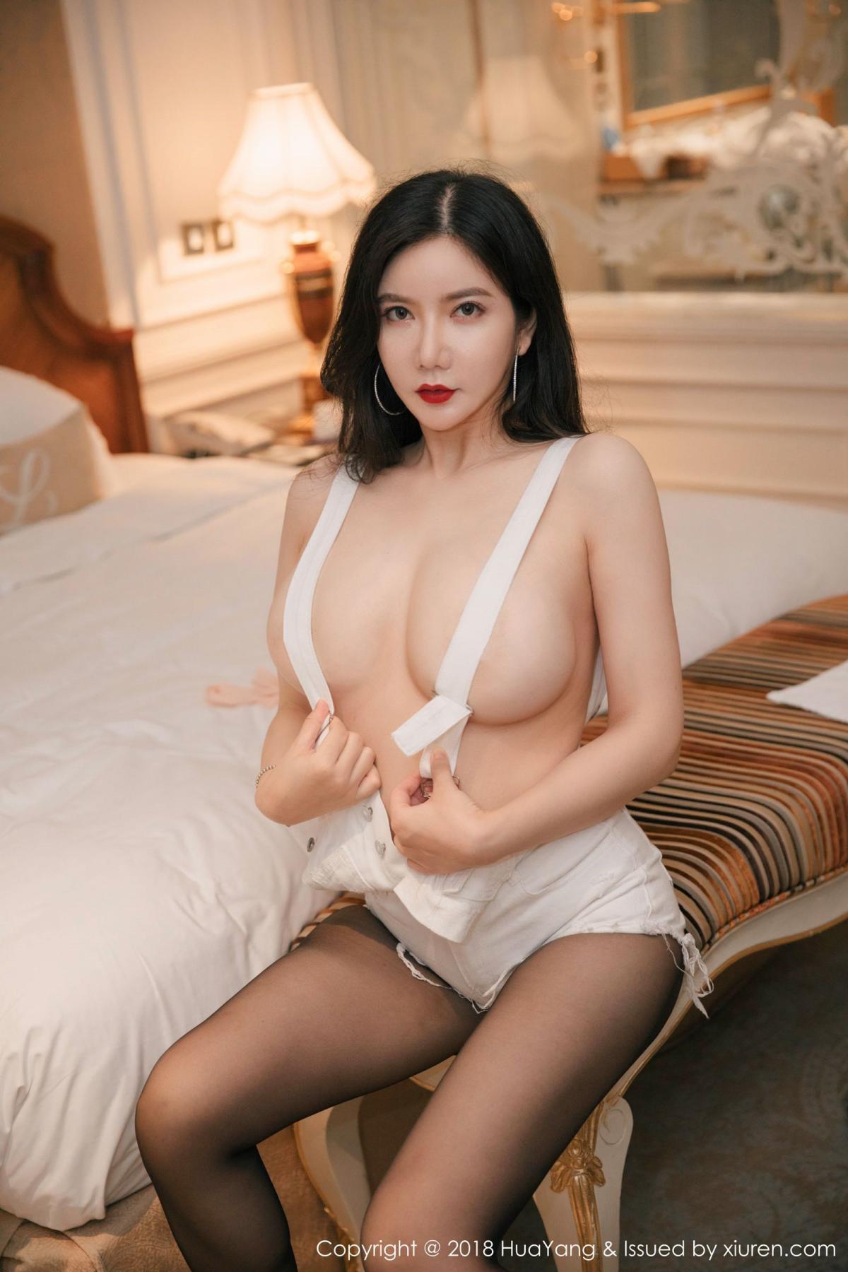 [Huayang] Vol.091 Li Yan Xi 19P, Black Silk, HuaYang, Li Yan Xi