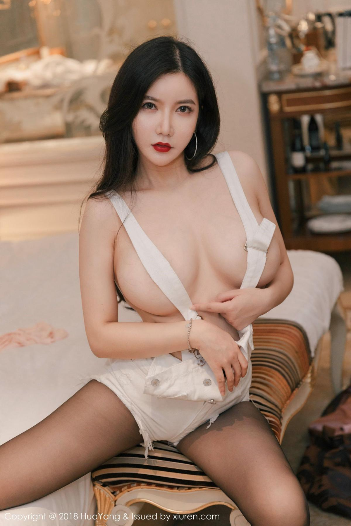 [Huayang] Vol.091 Li Yan Xi 2P, Black Silk, HuaYang, Li Yan Xi