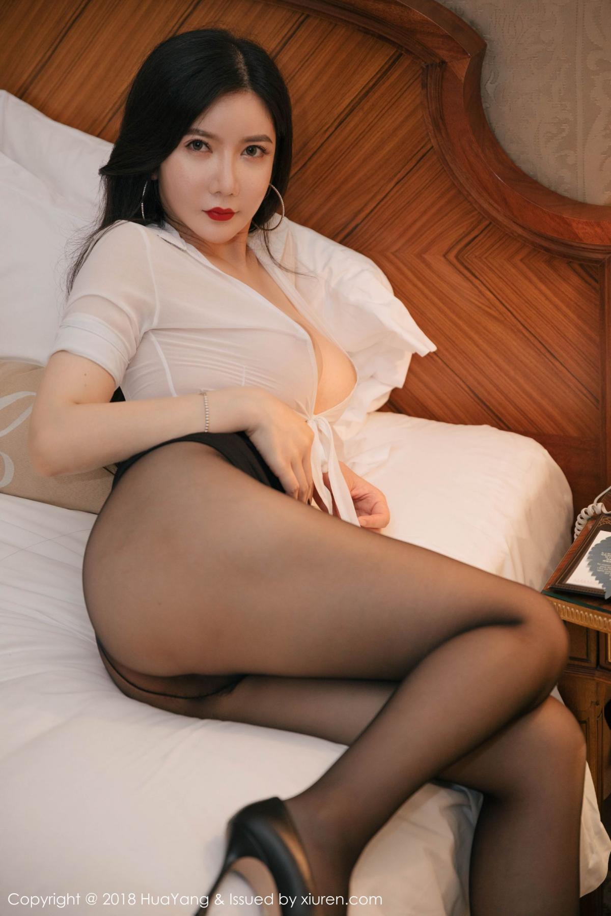 [Huayang] Vol.091 Li Yan Xi 40P, Black Silk, HuaYang, Li Yan Xi
