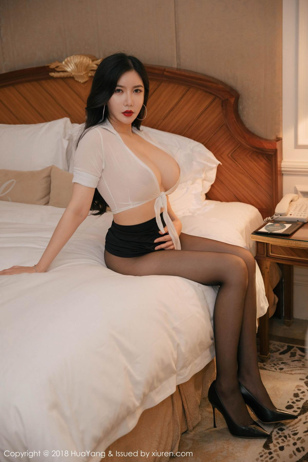 [Huayang] Vol.091 Li Yan Xi 43P, Black Silk, HuaYang, Li Yan Xi