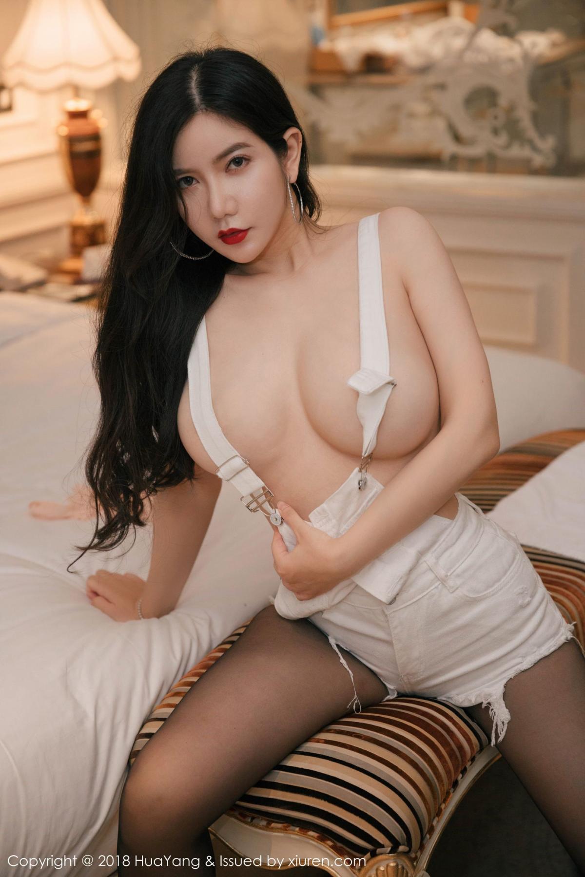 [Huayang] Vol.091 Li Yan Xi 4P, Black Silk, HuaYang, Li Yan Xi