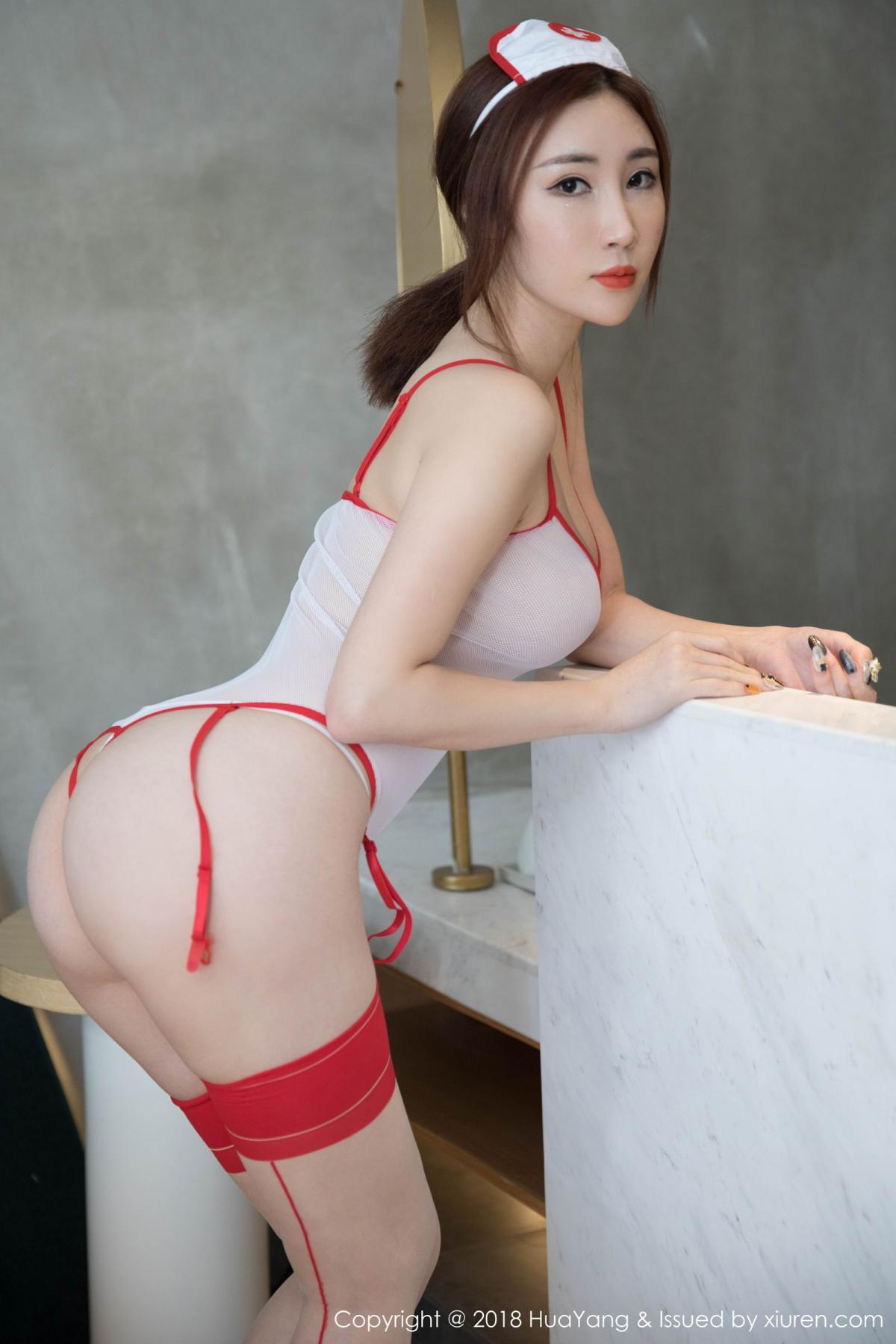 [Huayang] Vol.092 Sun Meng Yao 10P, HuaYang, Nurse, Sun Meng Yao, Tall, Uniform