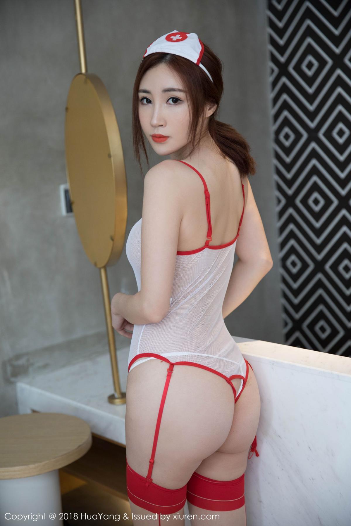 [Huayang] Vol.092 Sun Meng Yao 12P, HuaYang, Nurse, Sun Meng Yao, Tall, Uniform