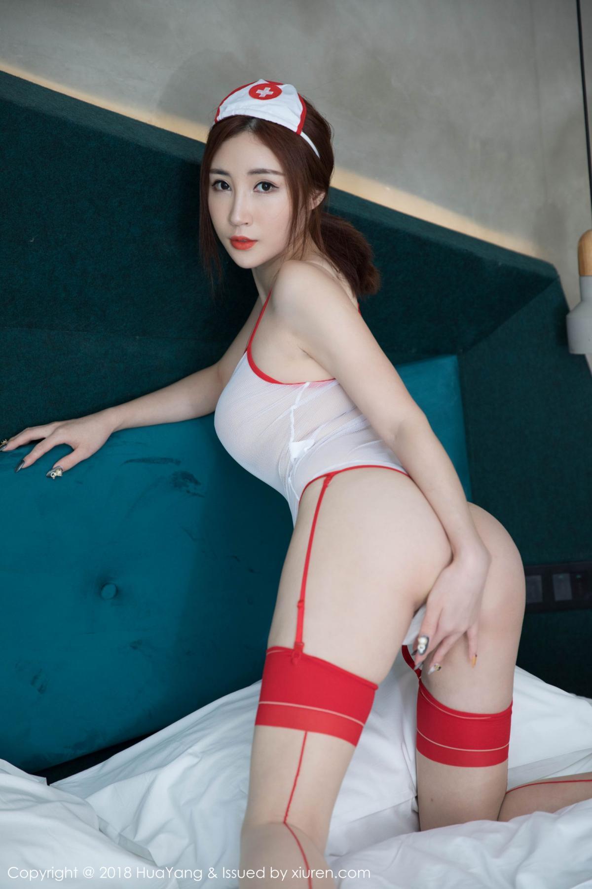 [Huayang] Vol.092 Sun Meng Yao 19P, HuaYang, Nurse, Sun Meng Yao, Tall, Uniform