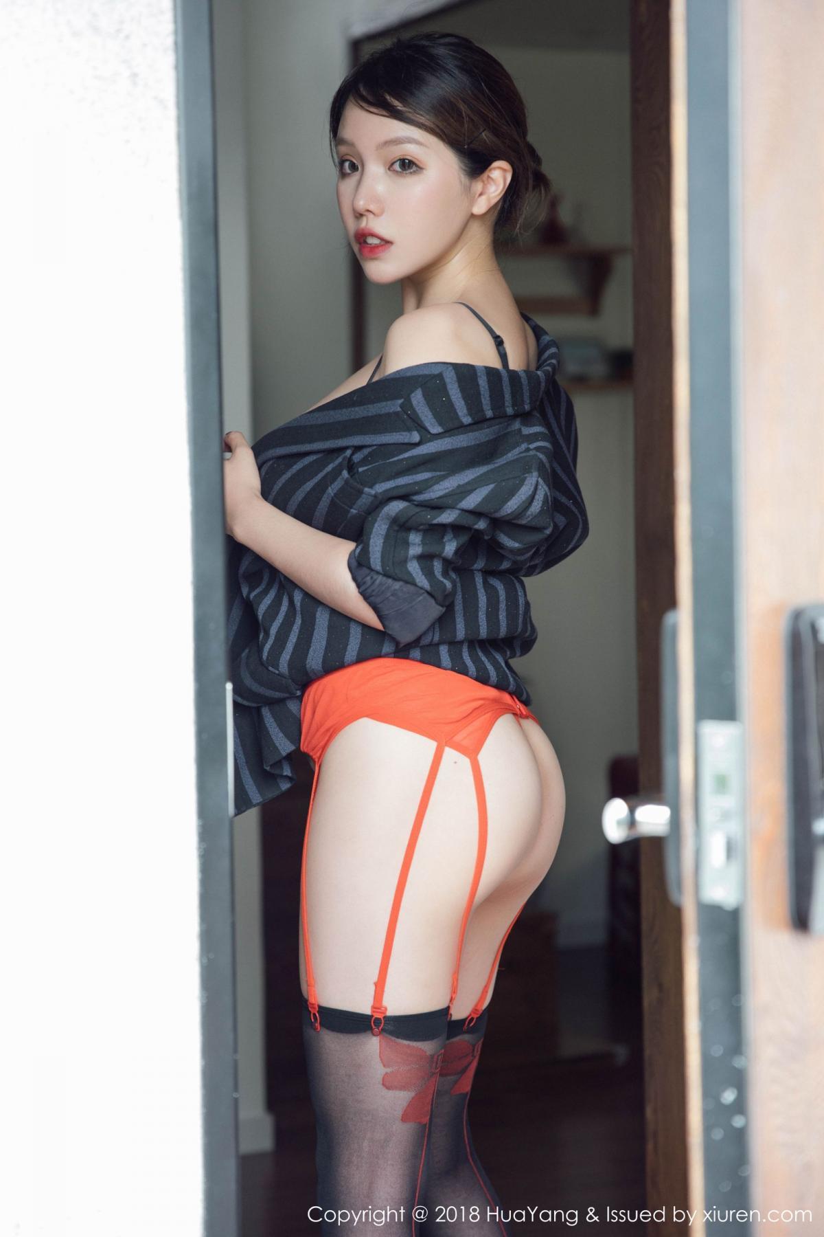 [Huayang] Vol.094 Huang Le Ran 3P, Black Silk, Huang Le Ran, HuaYang, Tall, Underwear