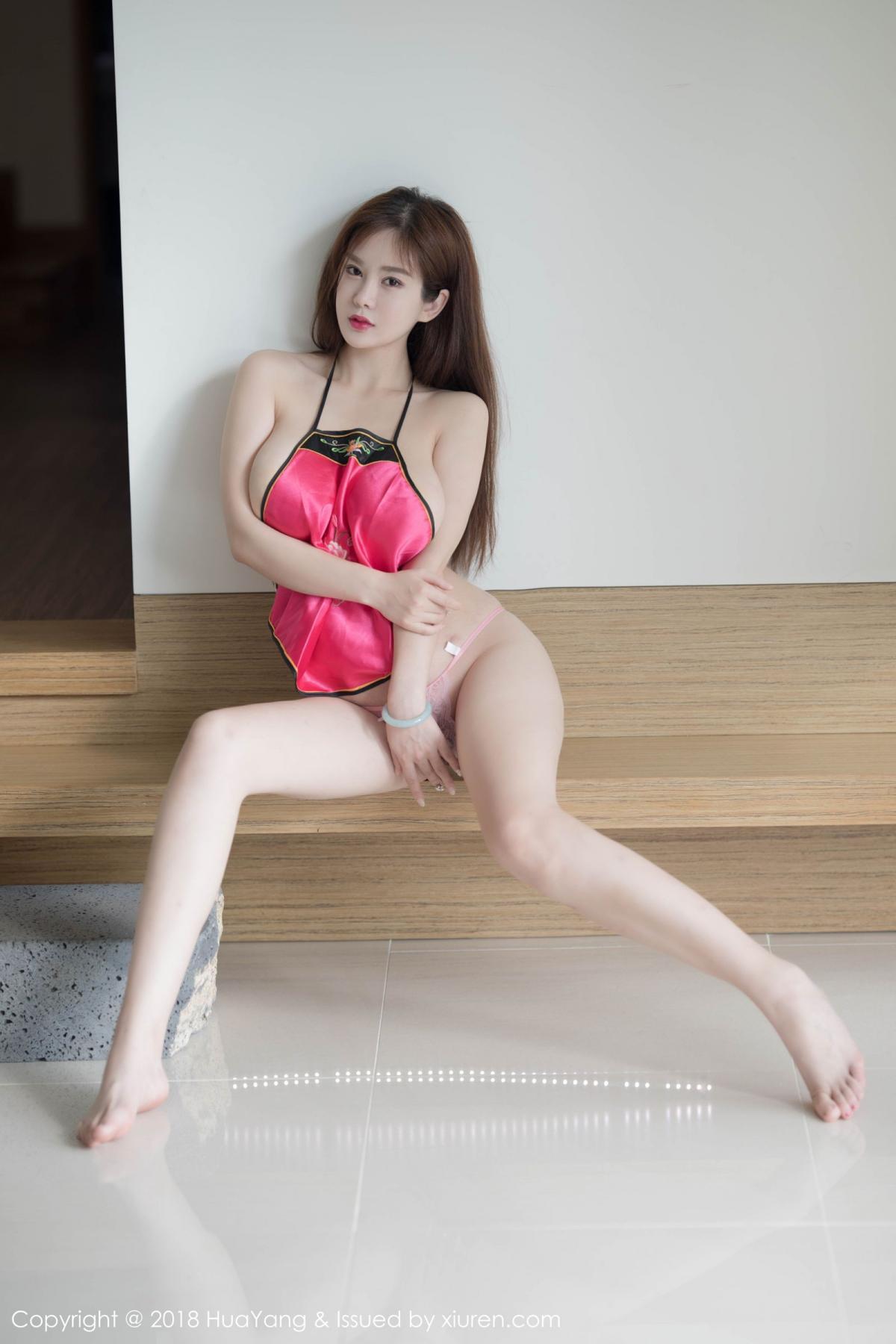 [Huayang] Vol.096 Yi Yang 14P, Adult, Bellyband, HuaYang, Yi Yang