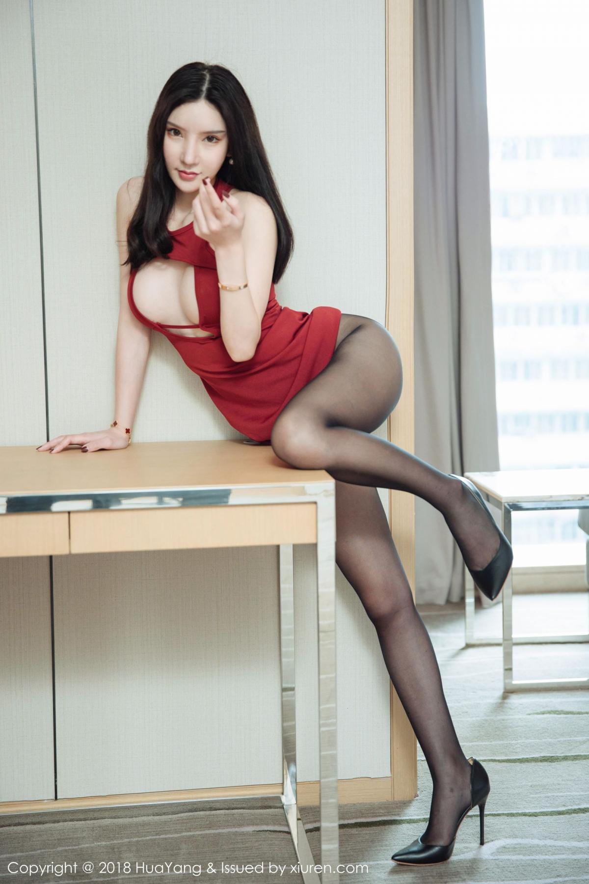 [Huayang] Vol.097 Zhou Yu Xi 31P, HuaYang, Snow, Tall, Zhou Yu Xi