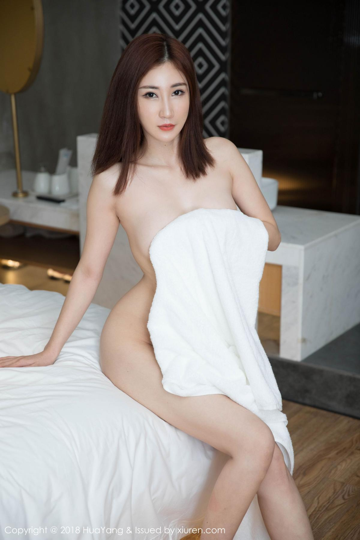 [Huayang] Vol.098 Sun Meng Yao 30P, Black Silk, HuaYang, Sun Meng Yao, Uniform