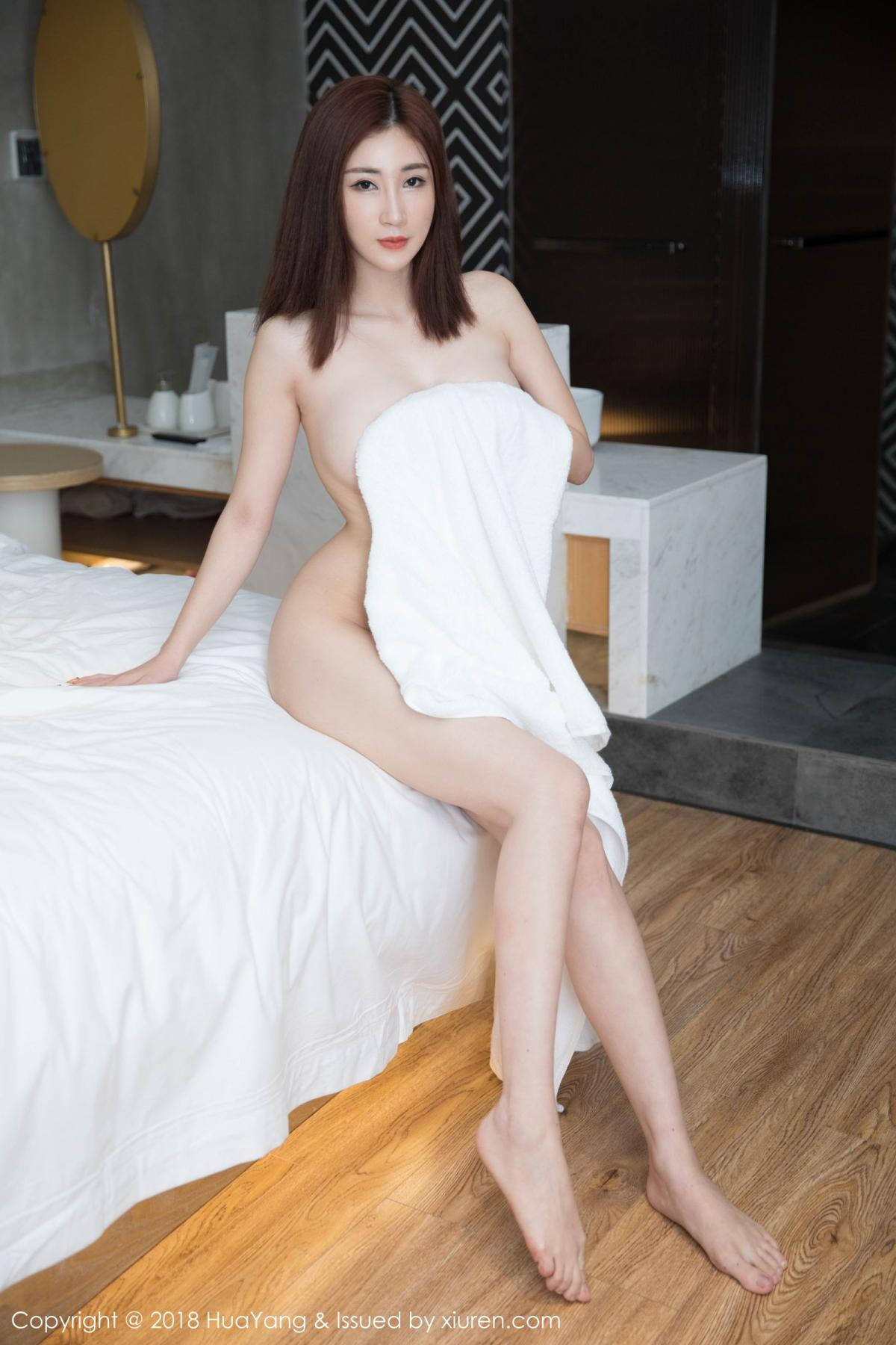 [Huayang] Vol.098 Sun Meng Yao 31P, Black Silk, HuaYang, Sun Meng Yao, Uniform