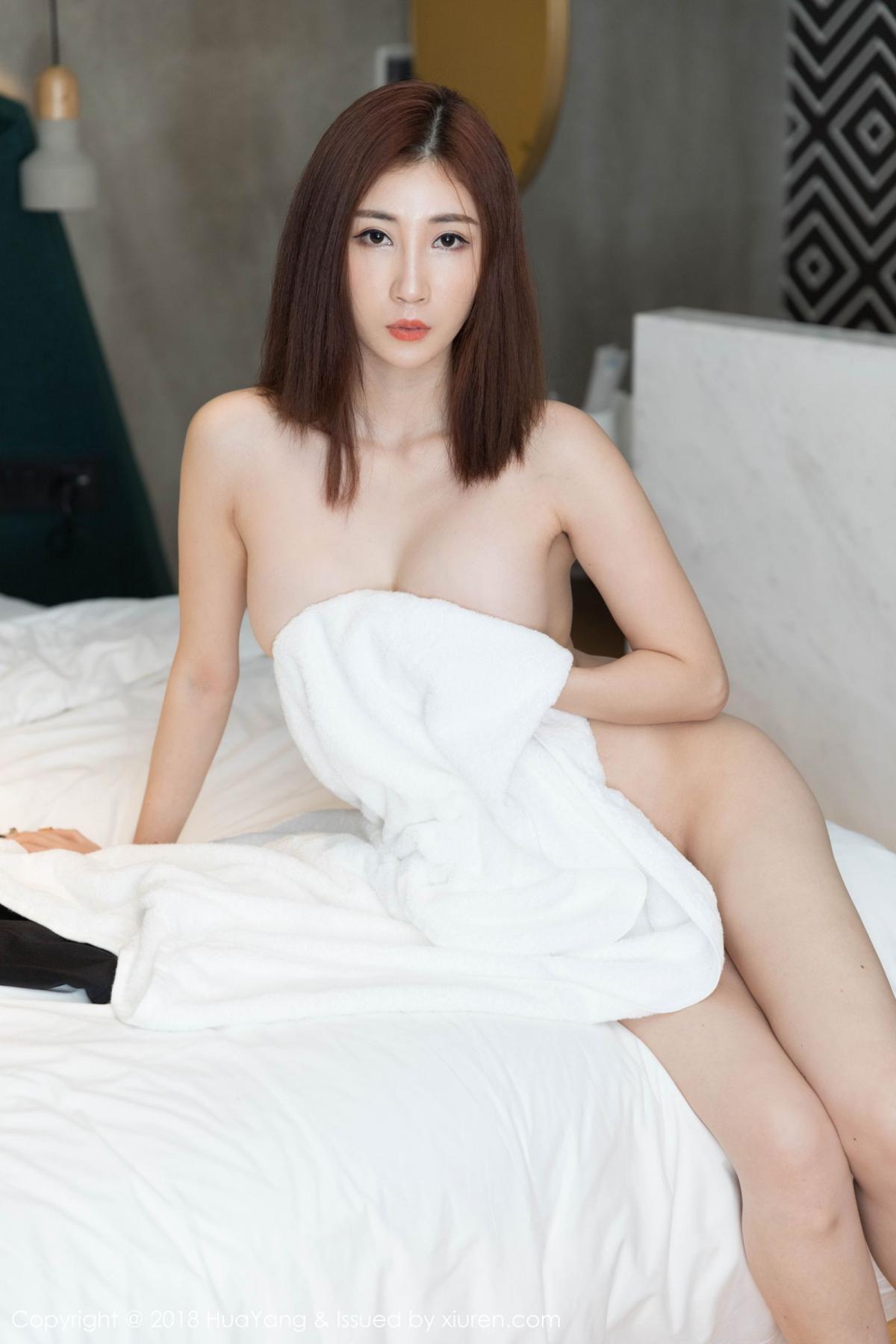 [Huayang] Vol.098 Sun Meng Yao 33P, Black Silk, HuaYang, Sun Meng Yao, Uniform