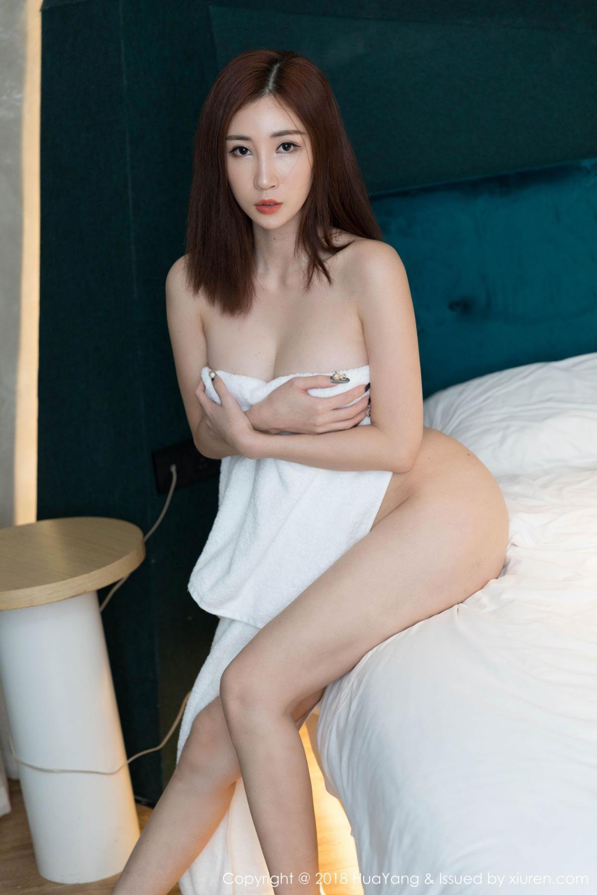 [Huayang] Vol.098 Sun Meng Yao 34P, Black Silk, HuaYang, Sun Meng Yao, Uniform