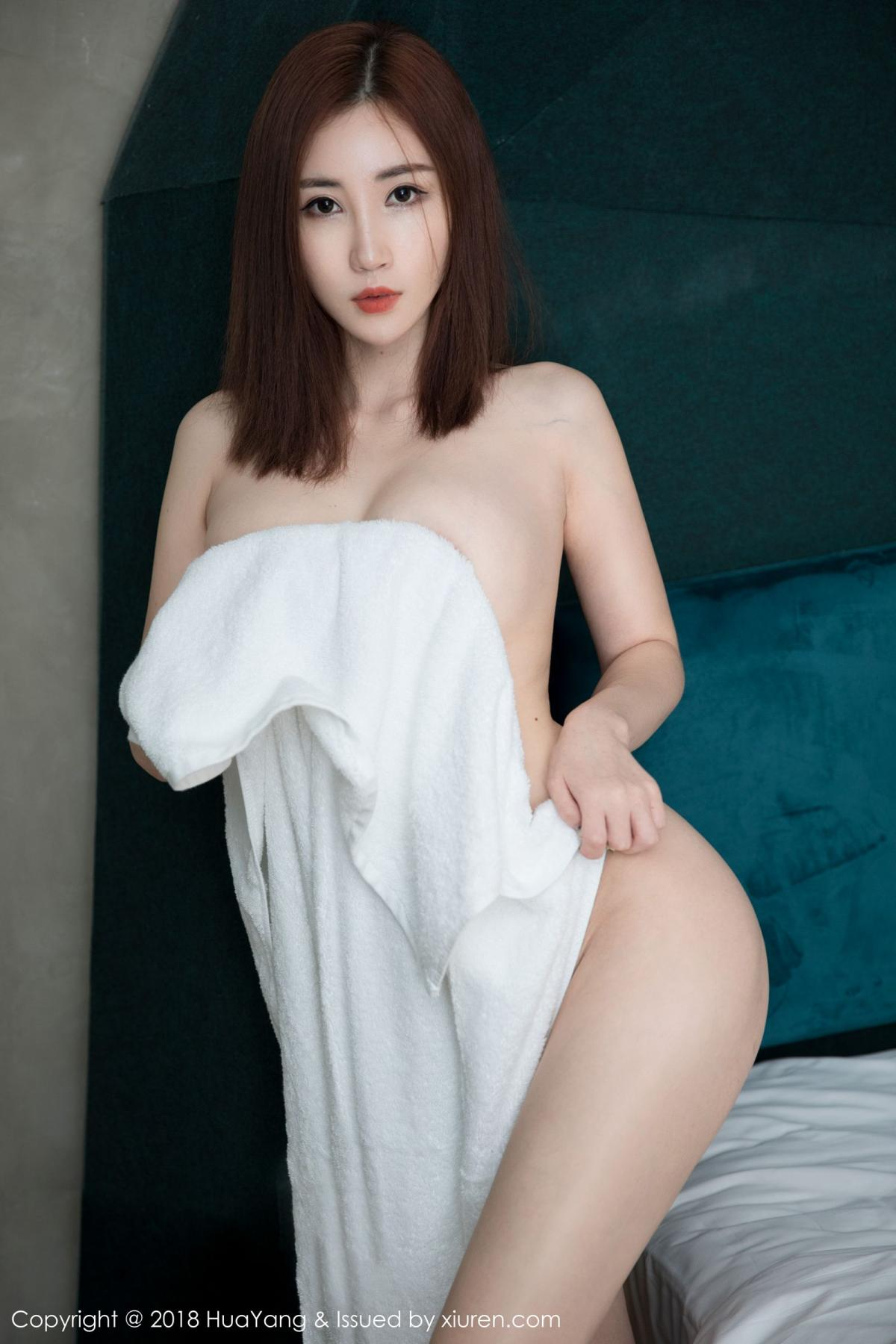 [Huayang] Vol.098 Sun Meng Yao 35P, Black Silk, HuaYang, Sun Meng Yao, Uniform