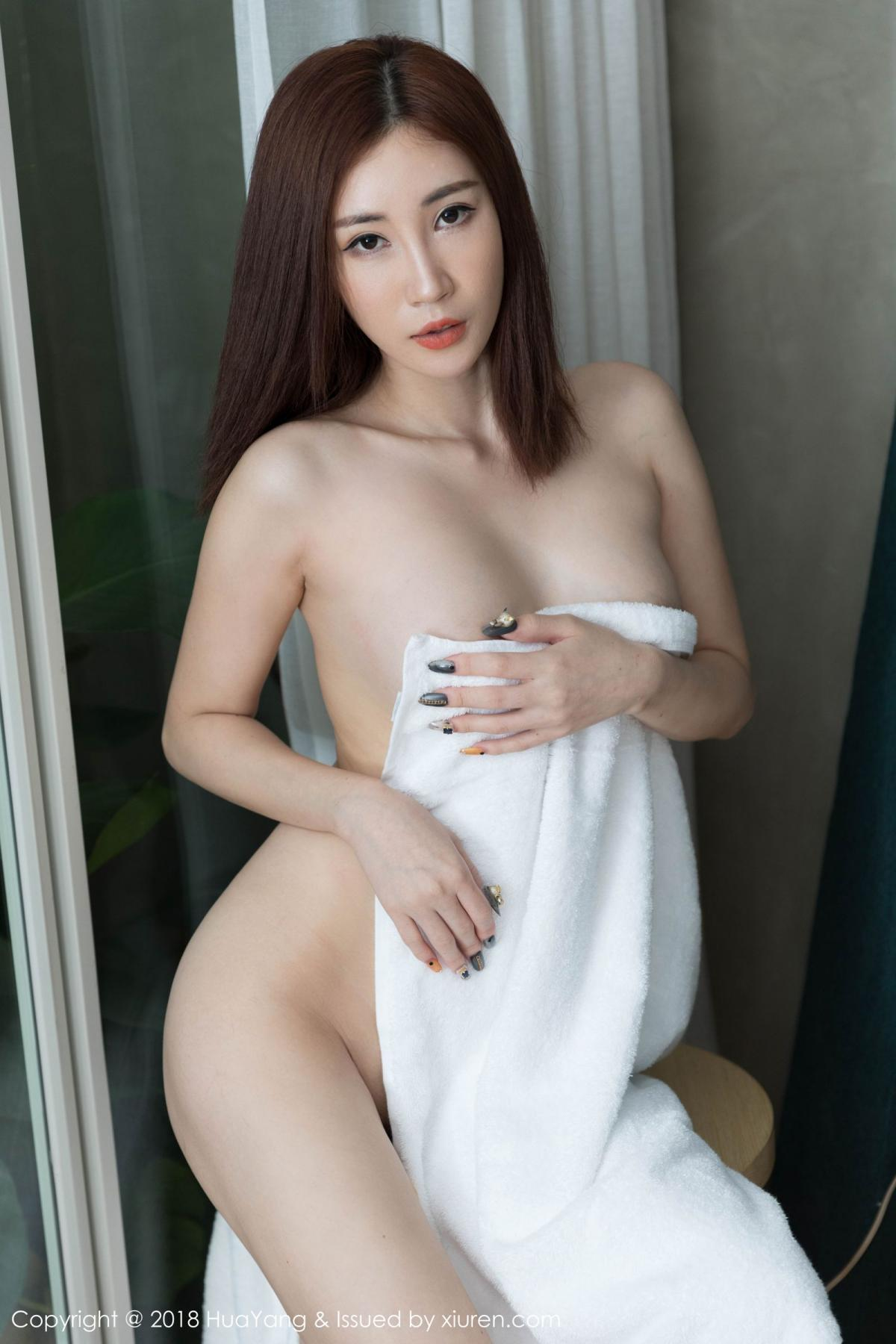 [Huayang] Vol.098 Sun Meng Yao 39P, Black Silk, HuaYang, Sun Meng Yao, Uniform