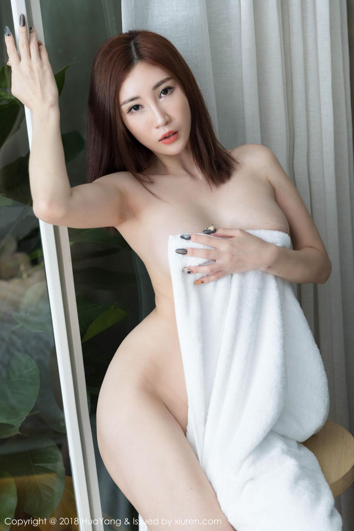 [Huayang] Vol.098 Sun Meng Yao 41P, Black Silk, HuaYang, Sun Meng Yao, Uniform