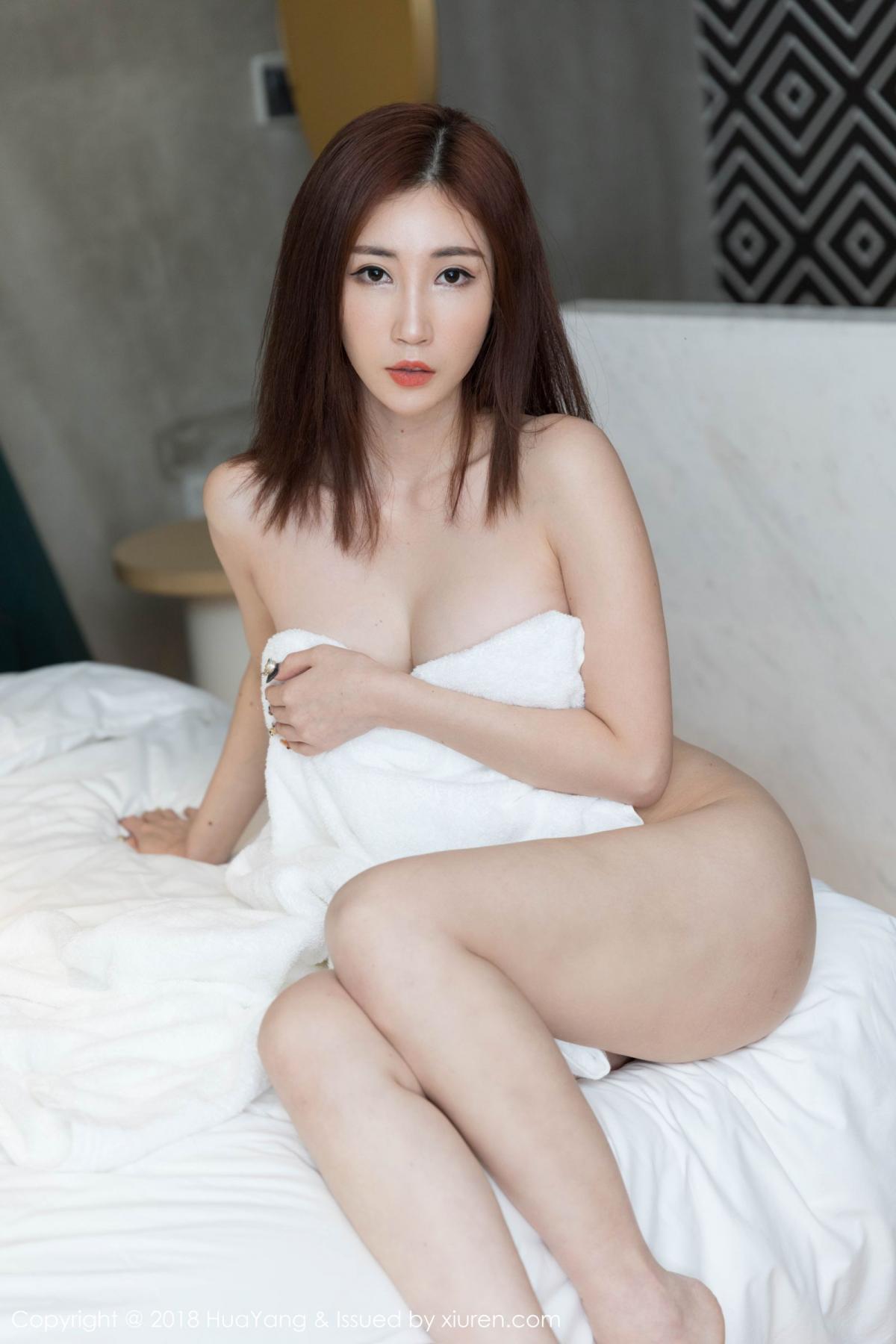 [Huayang] Vol.098 Sun Meng Yao 5P, Black Silk, HuaYang, Sun Meng Yao, Uniform