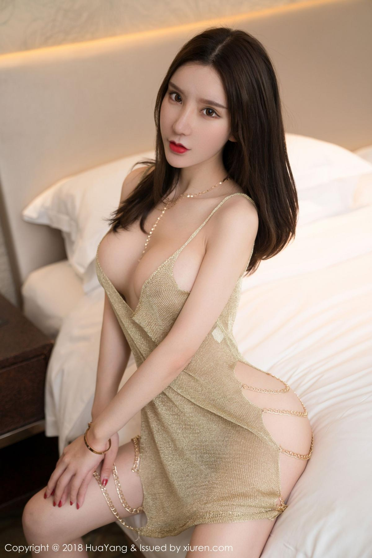 [Huayang] Vol.100 Ke Le Vicky 41P, Huang Le Ran, HuaYang