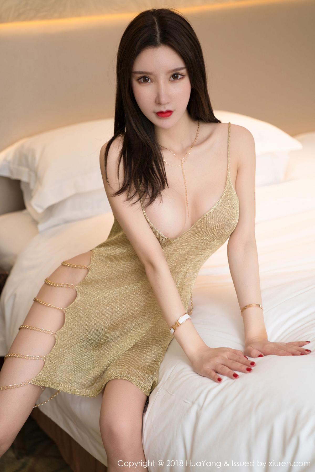 [Huayang] Vol.100 Ke Le Vicky 42P, Huang Le Ran, HuaYang