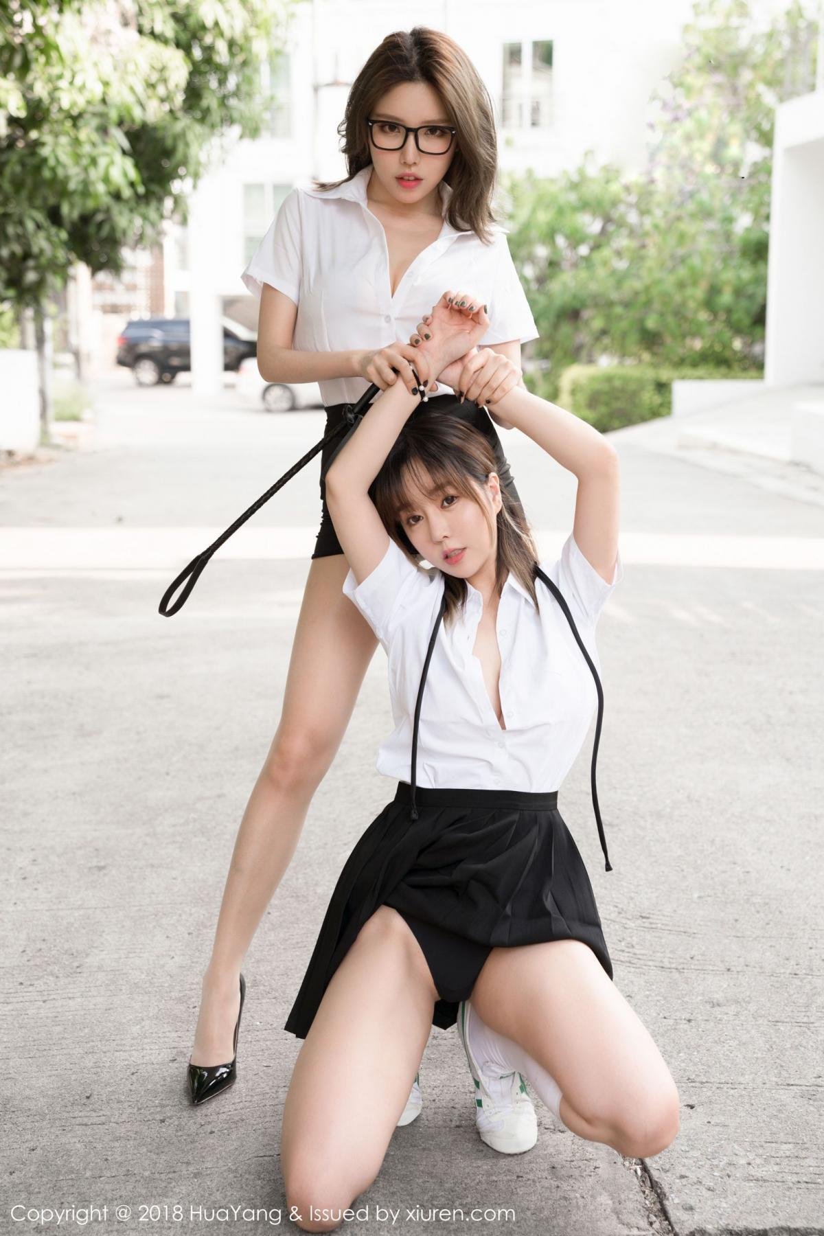[Huayang] Vol.100 Ke Le Vicky 99P, Huang Le Ran, HuaYang